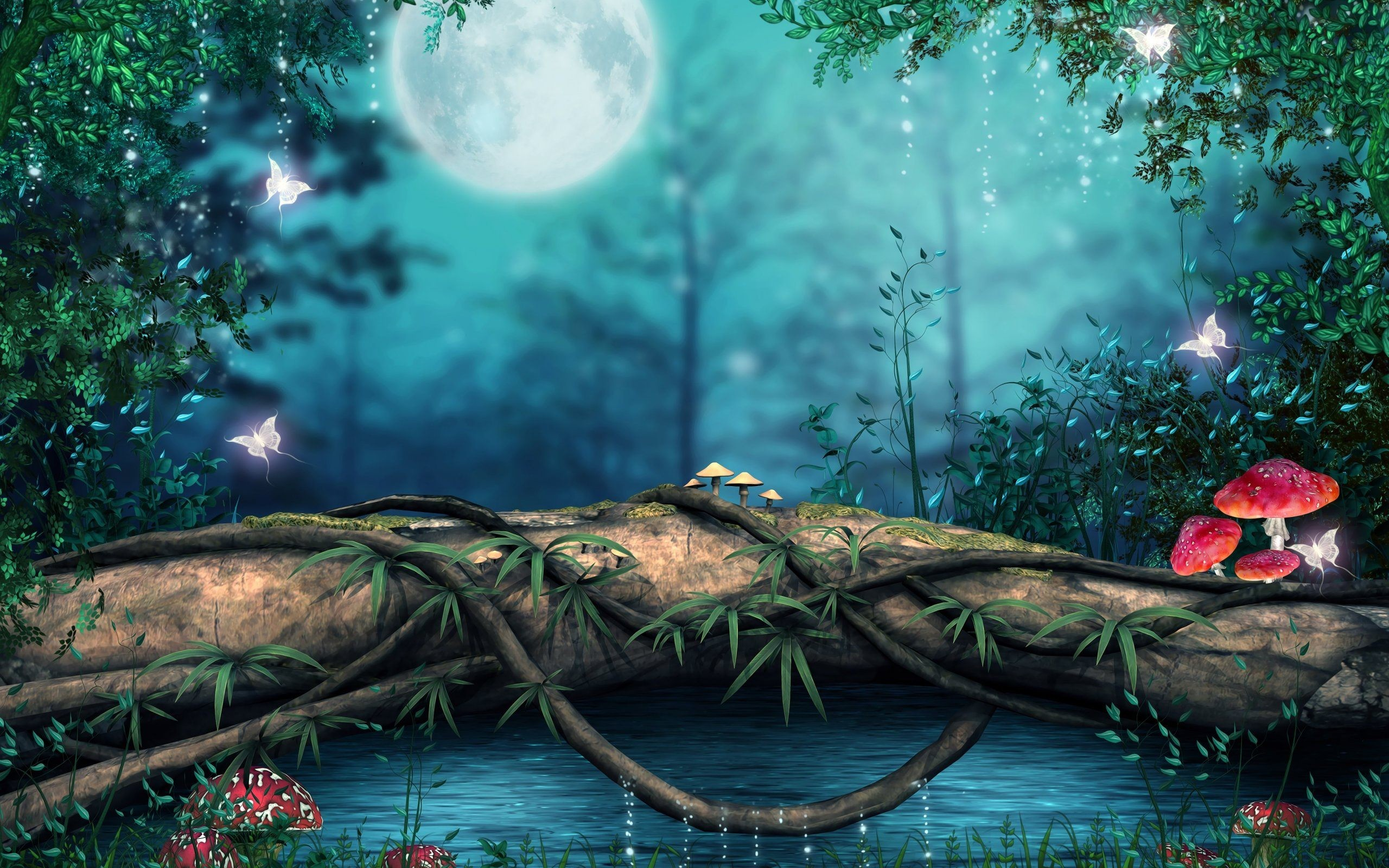 3D 1920x1080 HD Nature Wallpapers (56+ images)