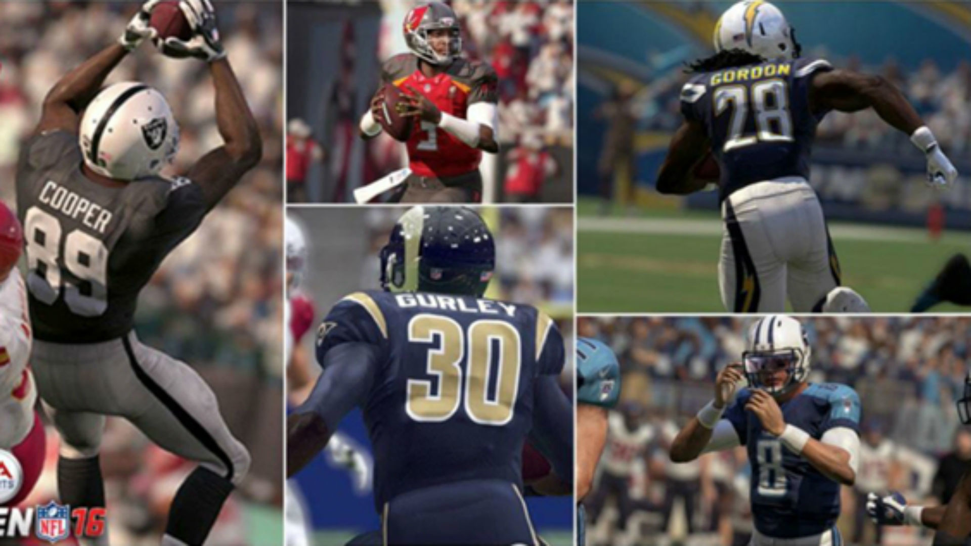 1920x1080 Ratings for the top rookies in 'Madden NFL 16' | Other Sports | Sporting  News