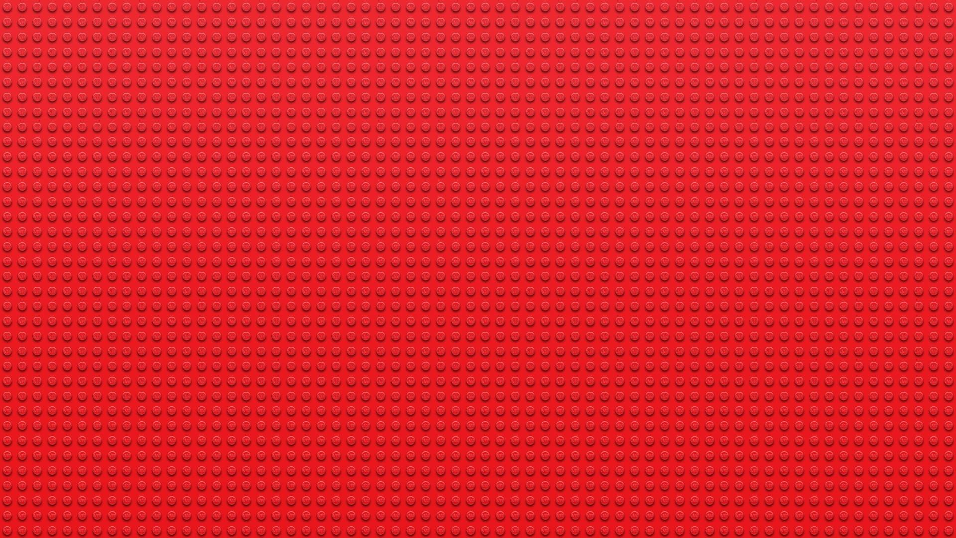 1920x1080 Red Studs Lego wallpaper - 964583