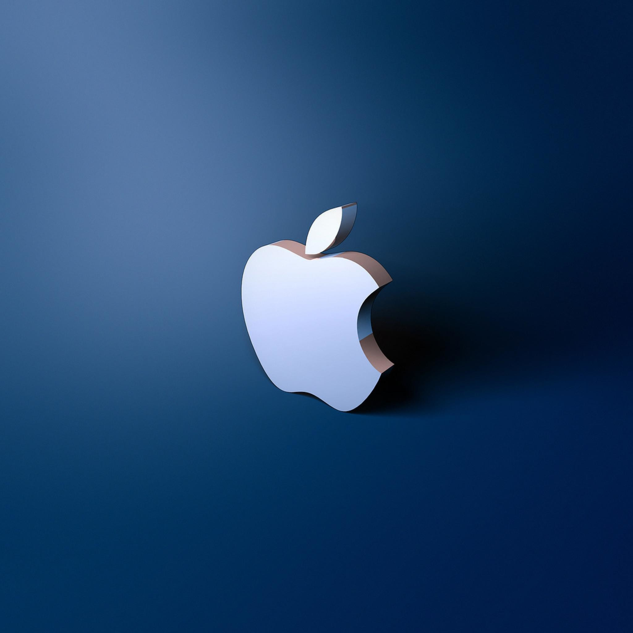 2048x2048 Light Blue Apple Logo.png - Bing images
