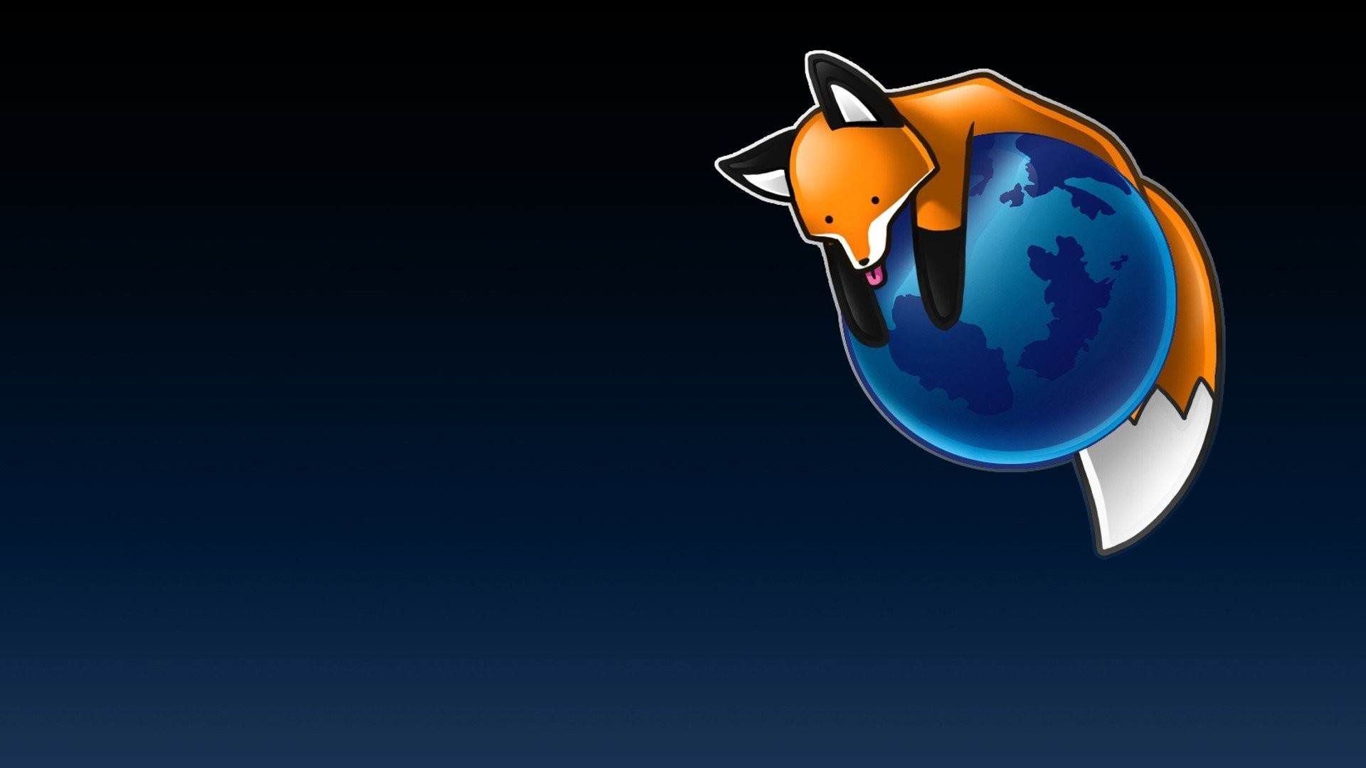 1920x1080 Mozilla Firefox, Simple background, Fox, Stupid fox HD Wallpapers / Desktop  and Mobile Images & Photos