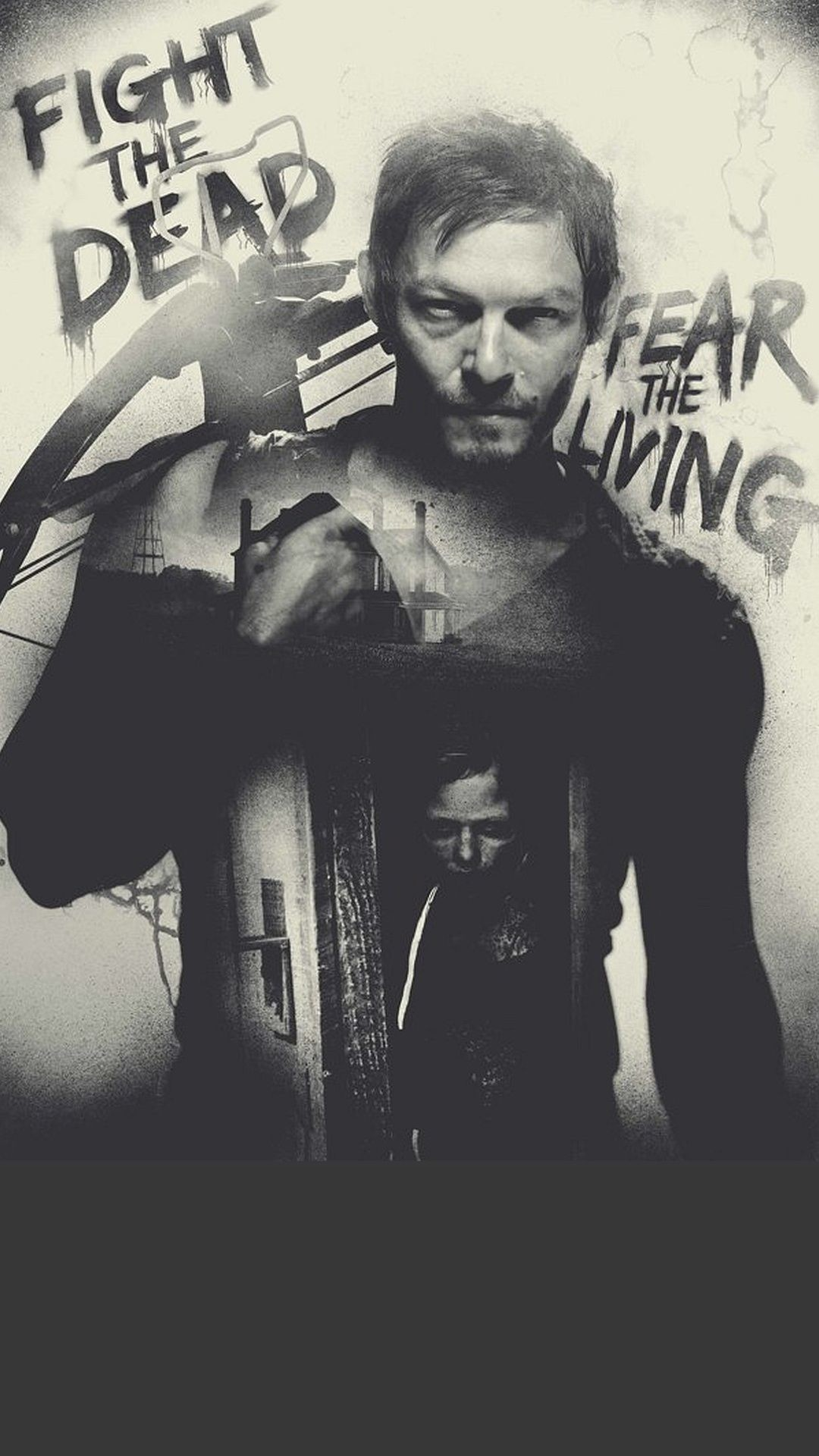 1080x1920 The Walking Dead - Norman Reedus as Daryl Dixon @daisyrdriver iphone  wallpaper
