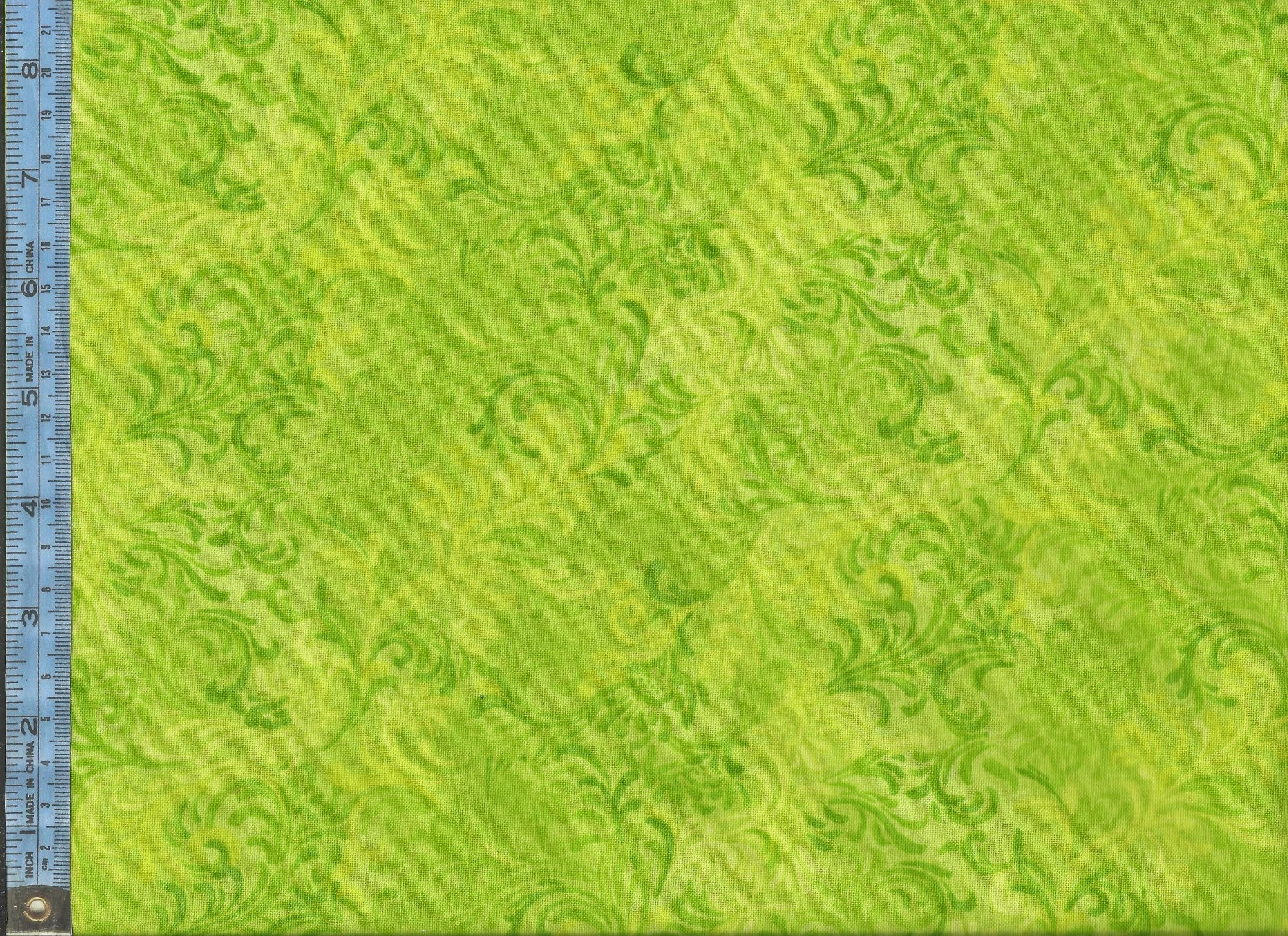 2000x1452 Essentials Embellishment - (51000-705) yellow-green lime and green on light