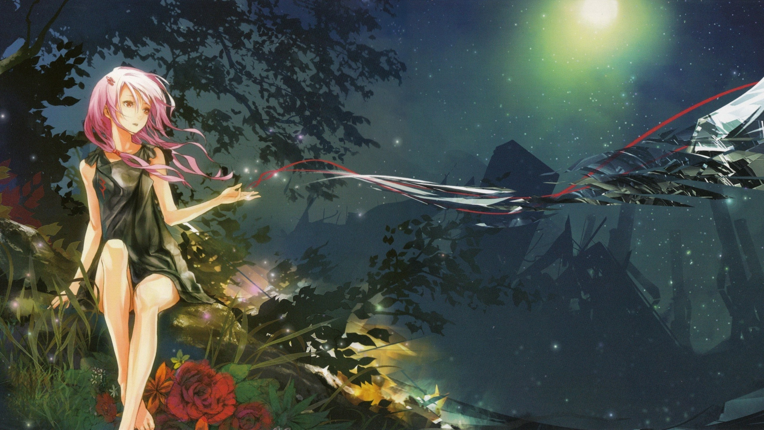 2560x1440 Wallpapers-fairy-woman-forest