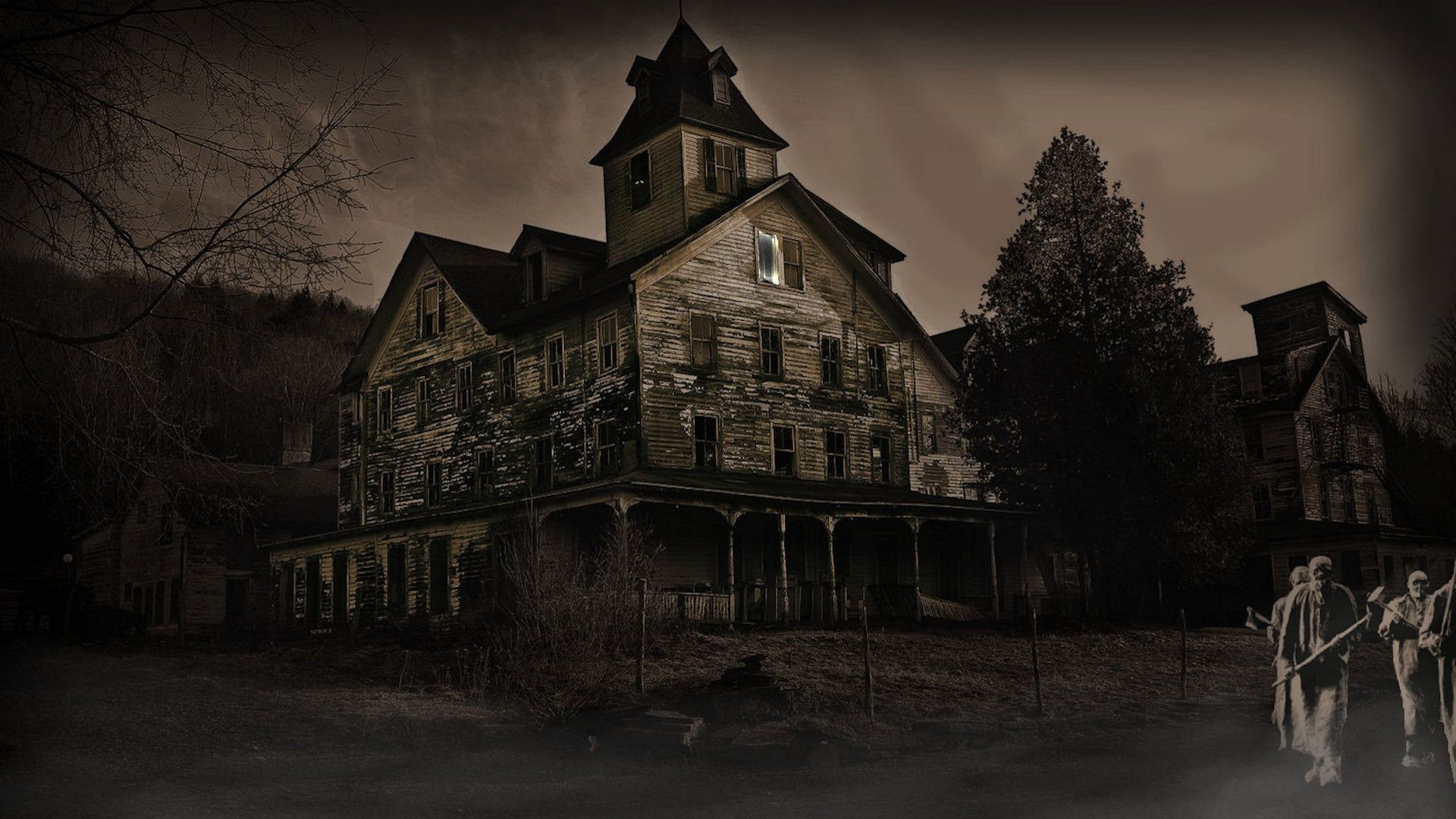 1920x1080 Haunted House Wallpapers Desktop - Wallpaper Cave
