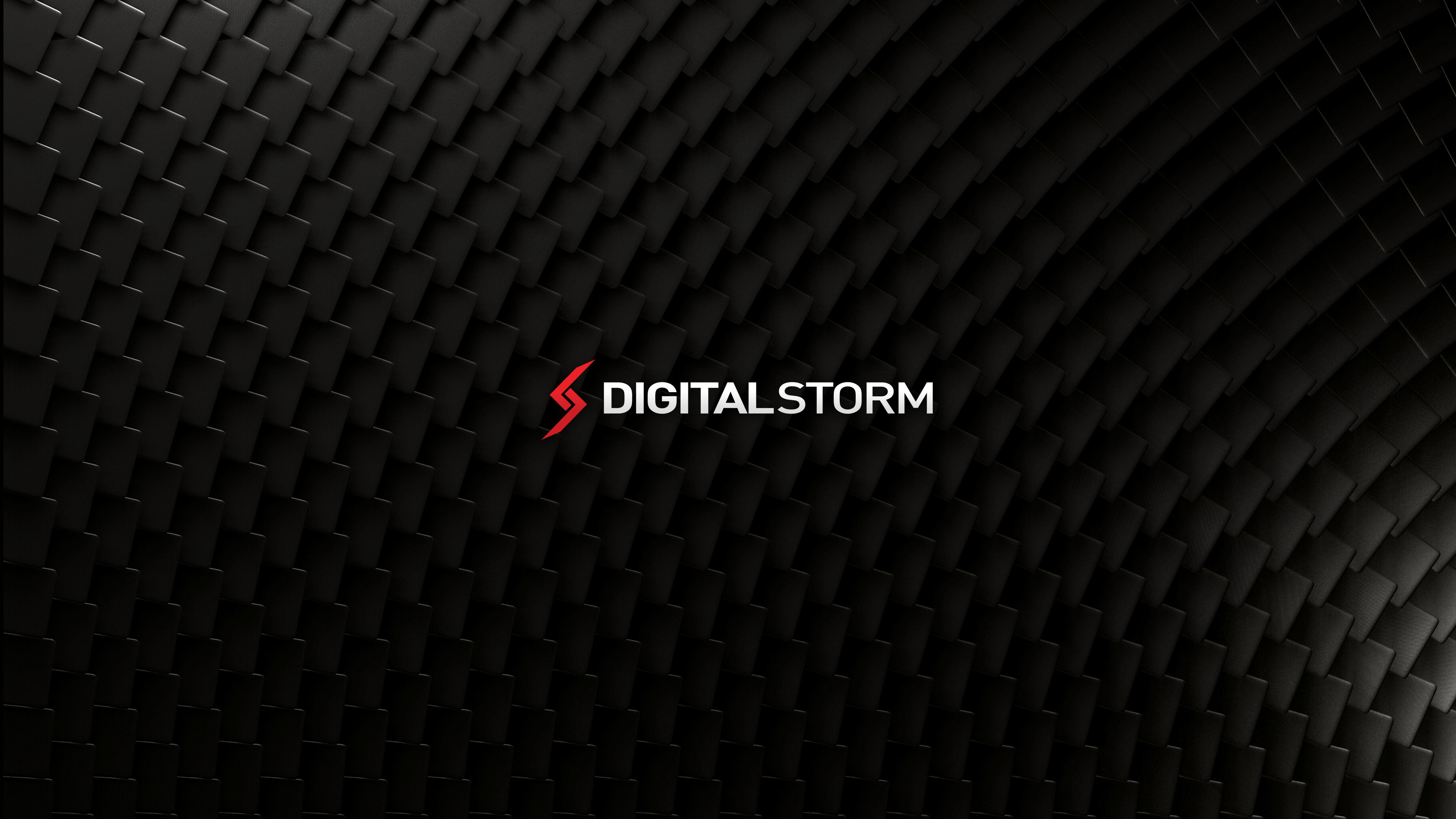 3840x2160 f. Digital Storm Stacked Carbon Wallpaper