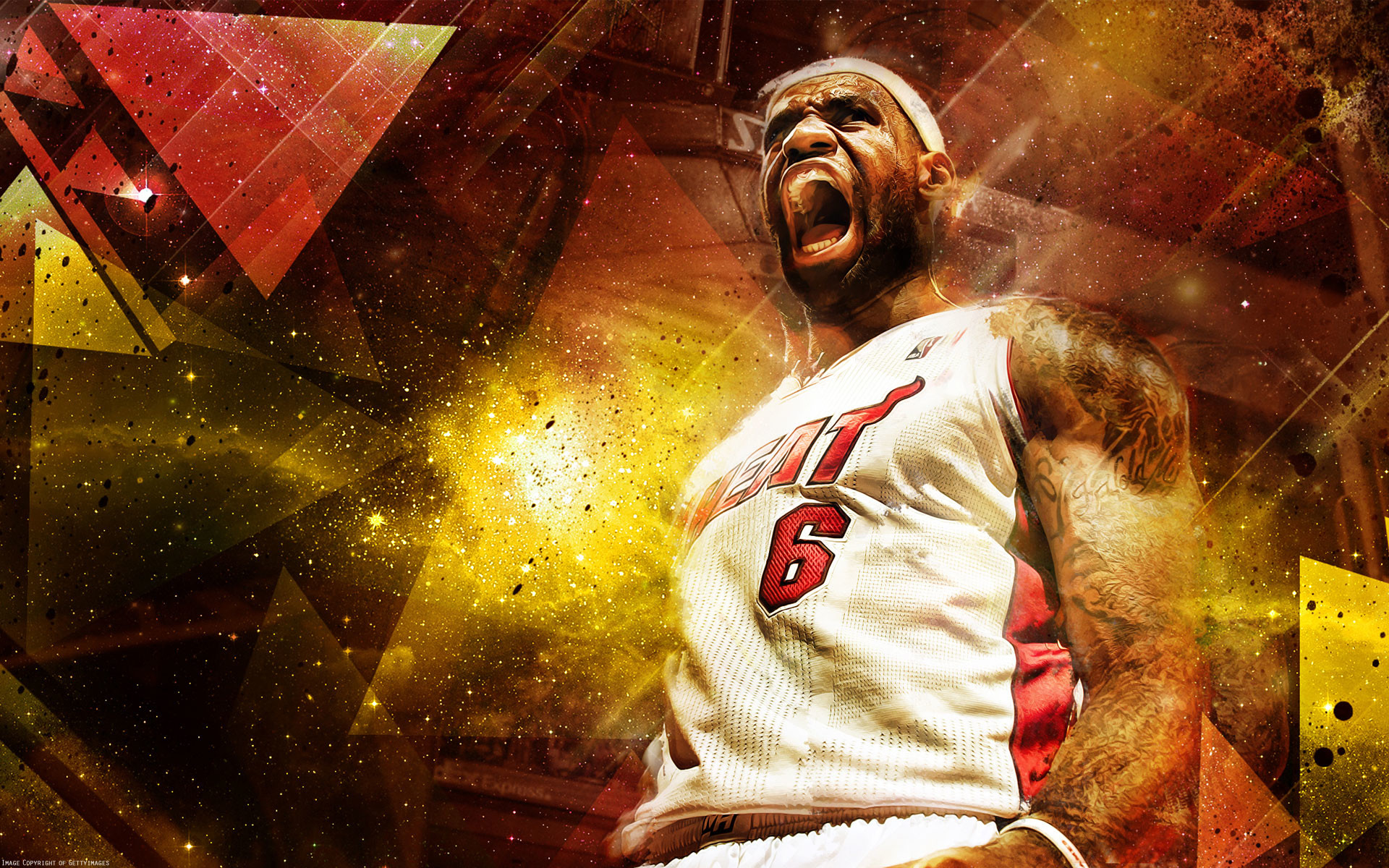 1920x1200 LeBron James 2013 1920×1200 Wallpaper