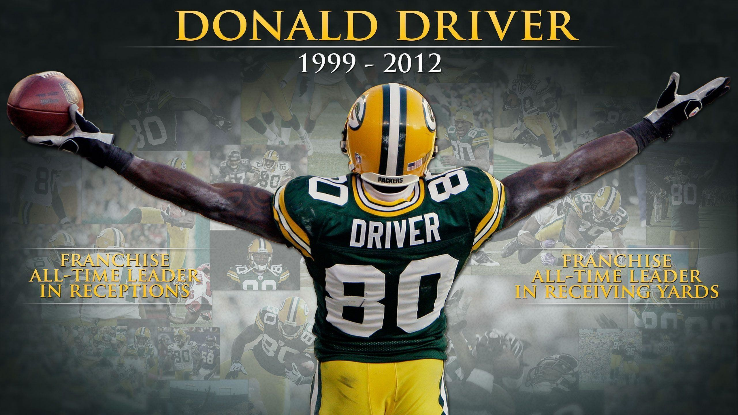 2560x1440 NFL Donald Driver Football Player Wallpaper | Download High .