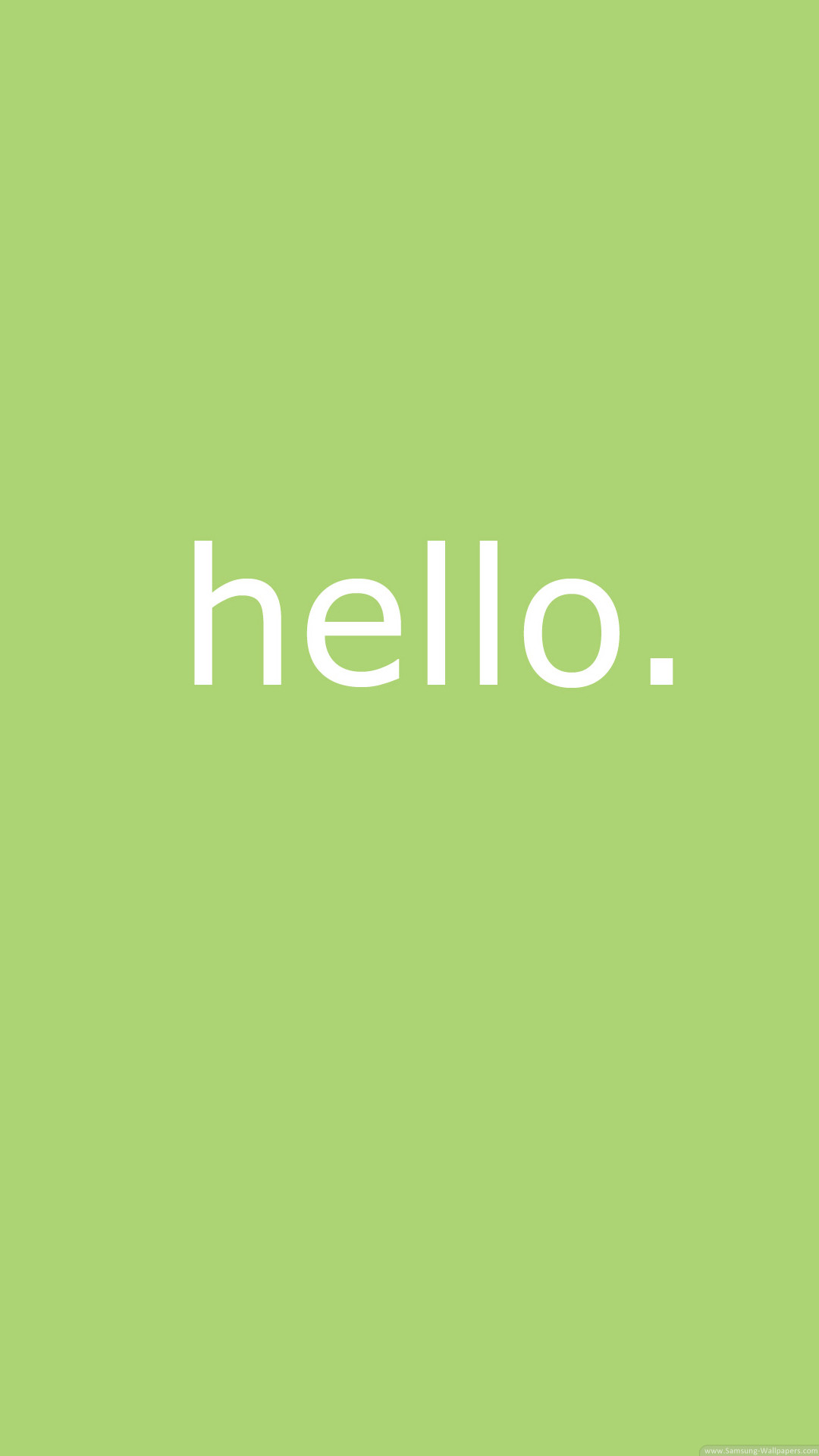 1080x1920 Tap image for more iPhone quotes wallpaper! Simple Hello - @mobile9 |  Wallpapers for