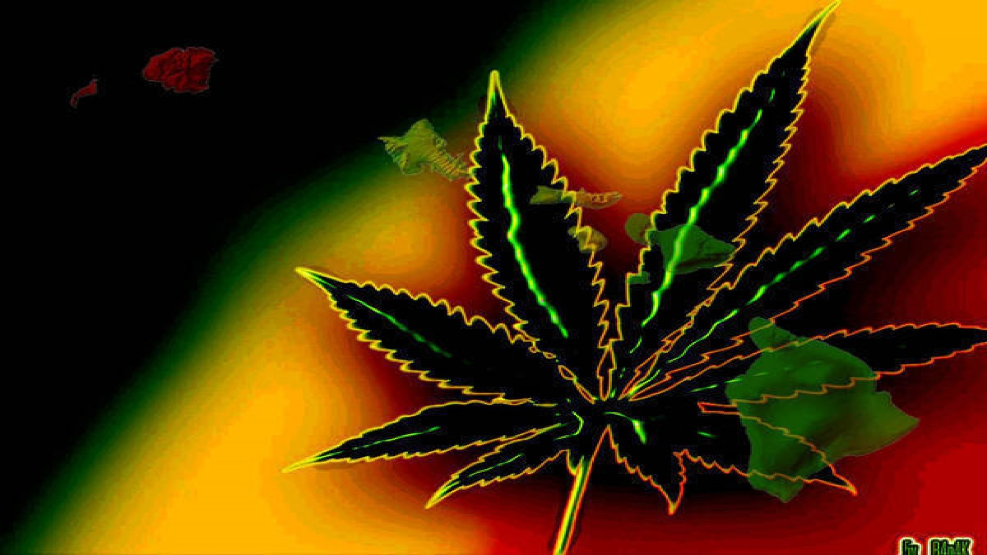 1920x1080 ... weed live wallpaper hd .