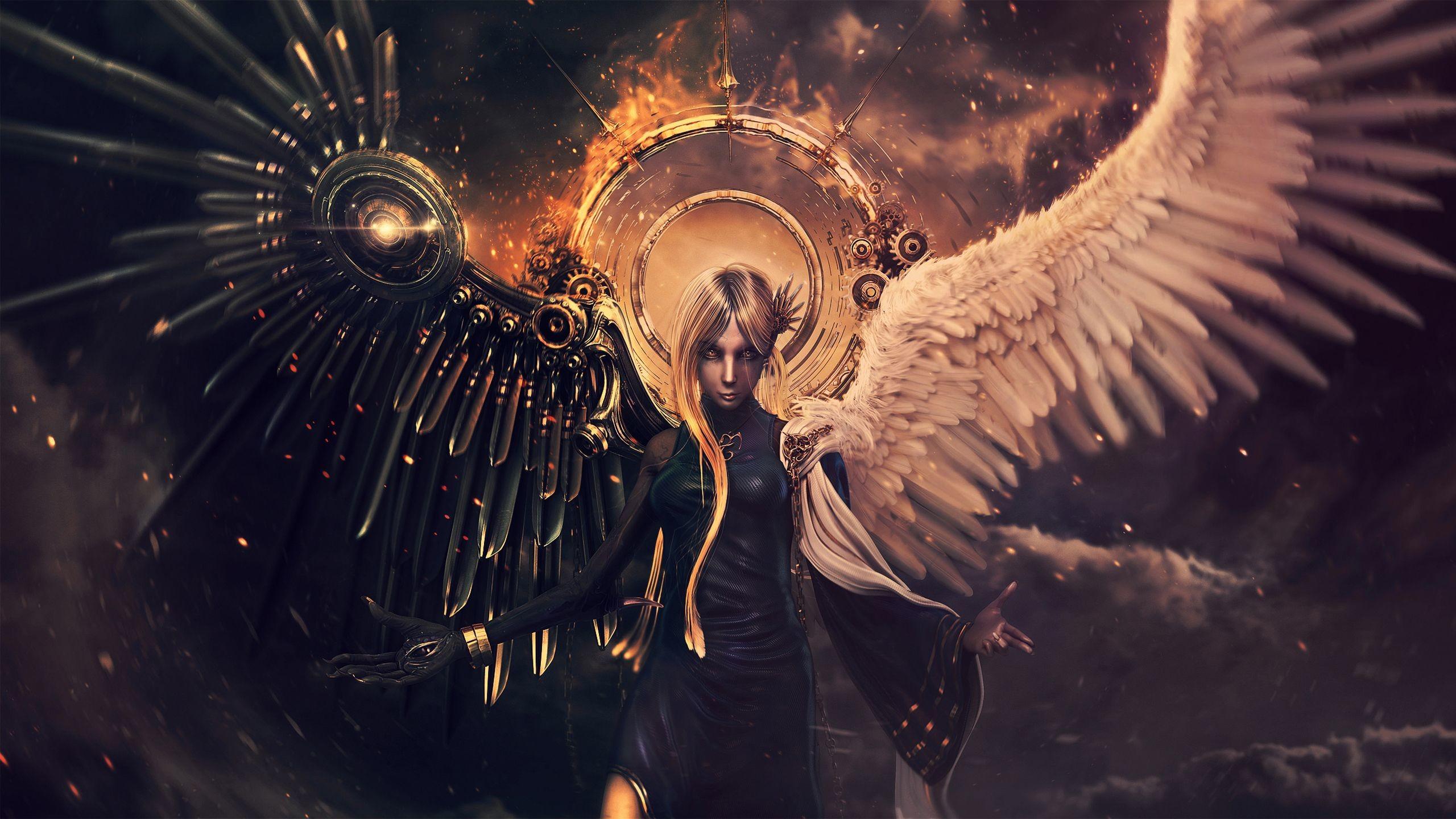 Wallpapersafari: Angels And Demons Wallpapers (61+ Images