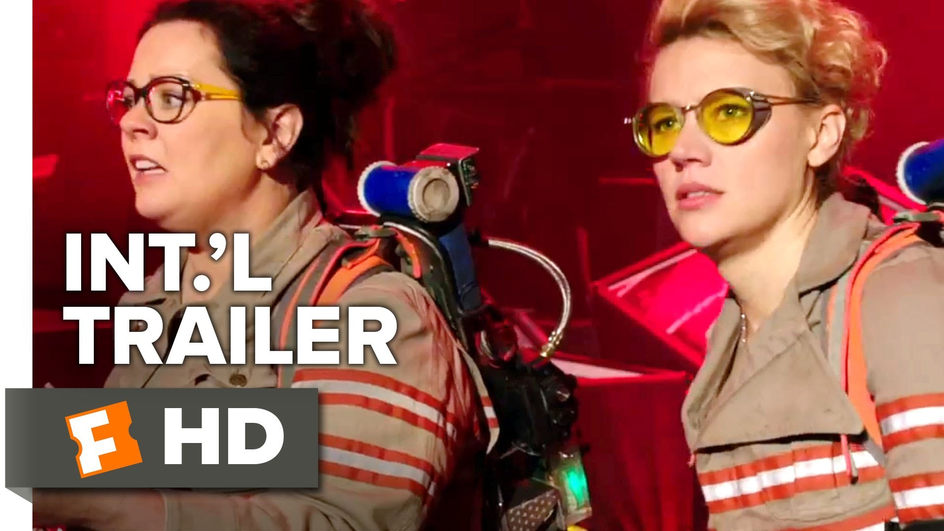 1920x1080 Ghostbusters Official International Trailer #1 (2016) - Kristen Wiig,  Melissa McCarthy Movie HD - YouTube