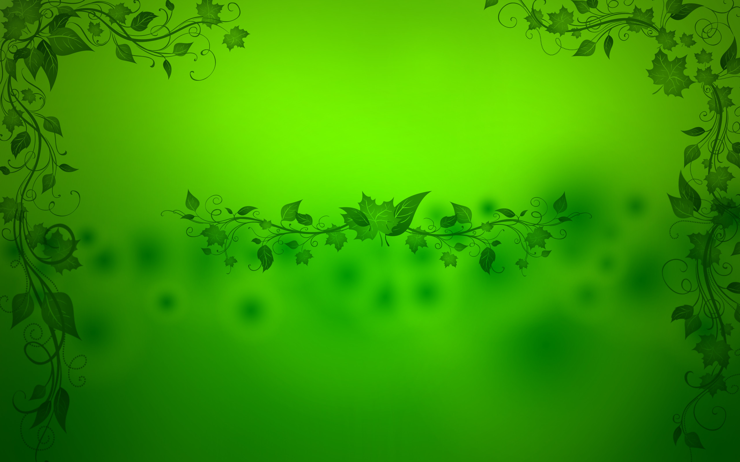 2560x1600 Cool Abstract Green Wallpaper 06501