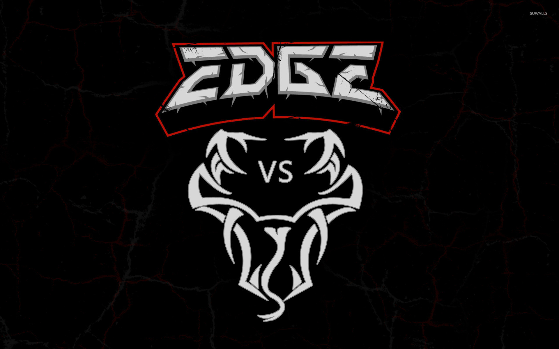 1920x1200 Edge vs Randy Orton logo wallpaper