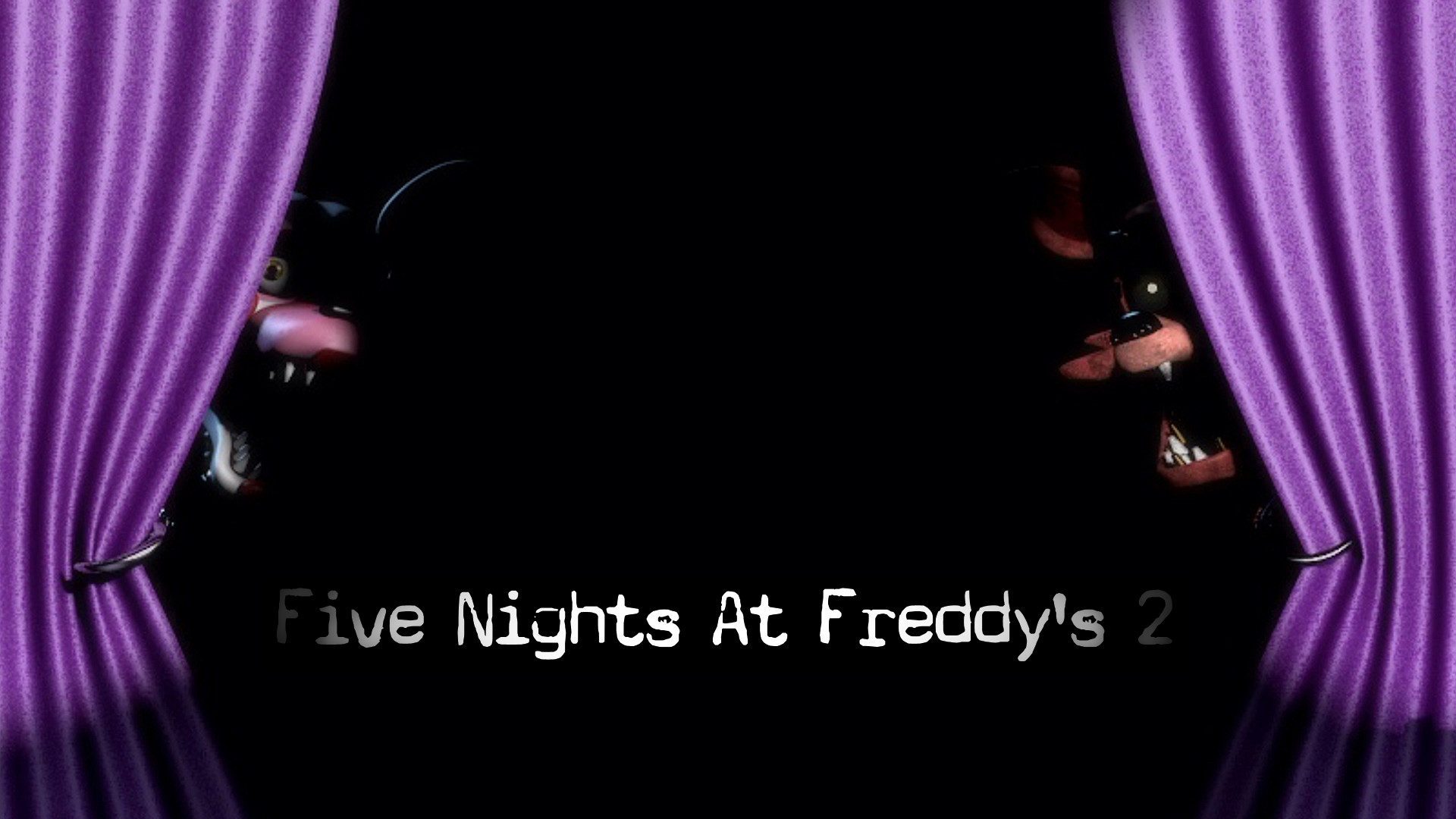 1920x1080 Five Nights At Freddys 2 Official Poster #2 by  ProfessorAdagio.deviantart.com on