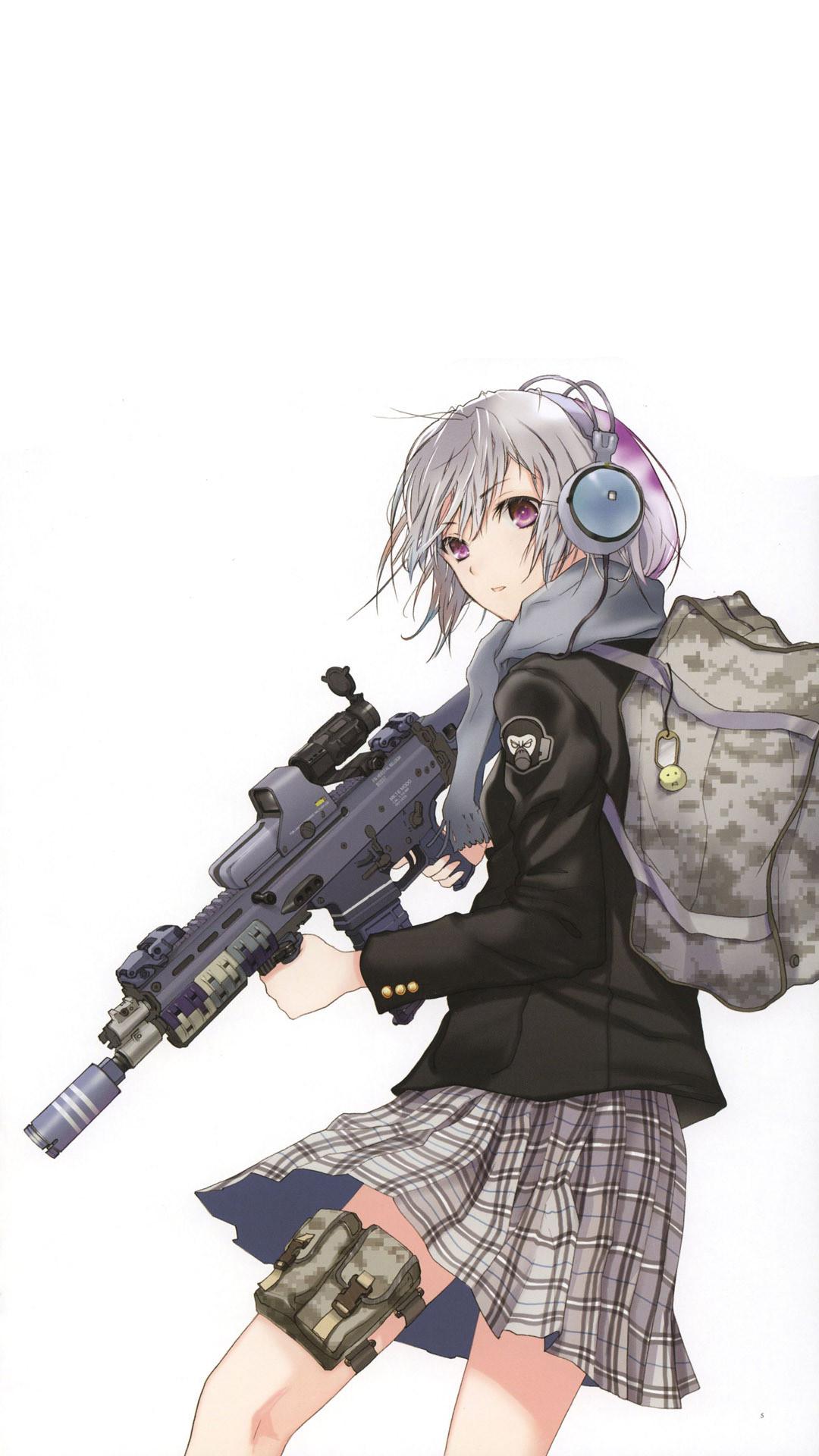 Anime gun wallpaper 61 images - Anime mobile wallpaper ...