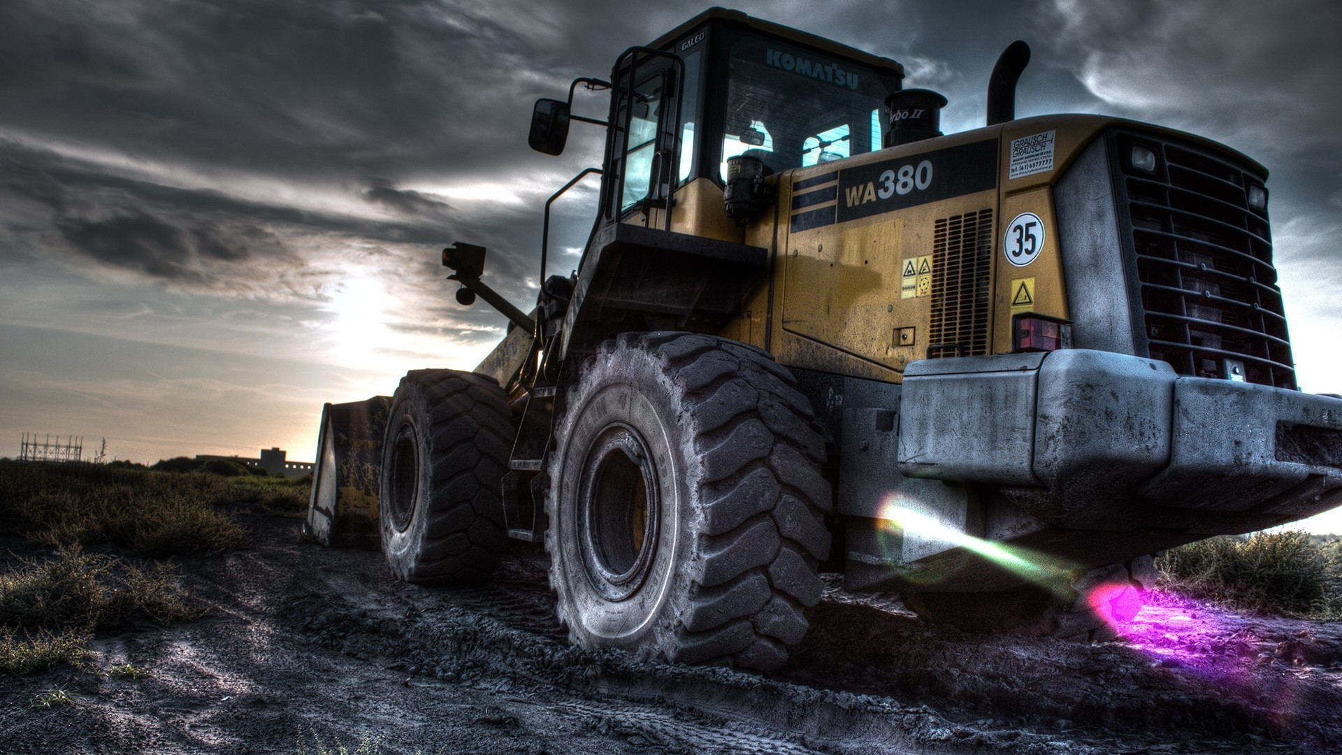 1920x1080 front end loader, Construction vehicles