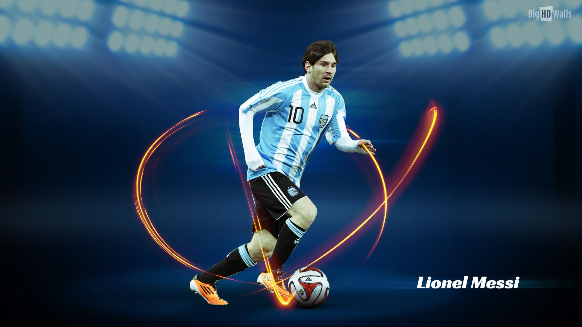 1920x1080 Lionel Messi Wallpaper 2017