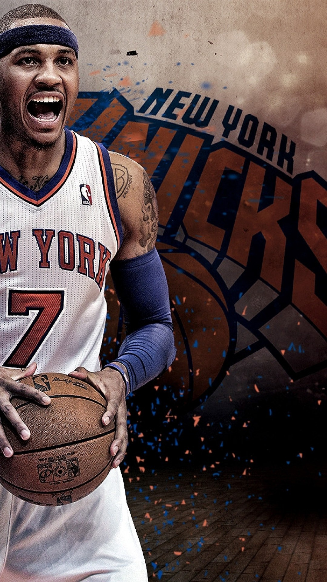 Carmelo anthony wallpaper iphone 65 images 1080x1920 carmelo anthony wallpapers iphone 6 plus voltagebd Images