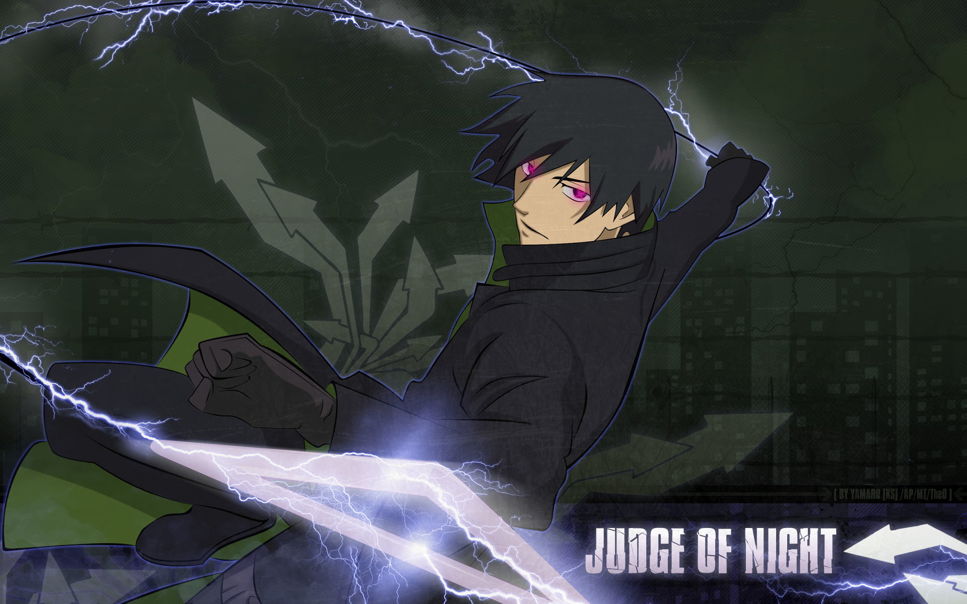 1920x1200 Wallpaper Darker than Black Anime