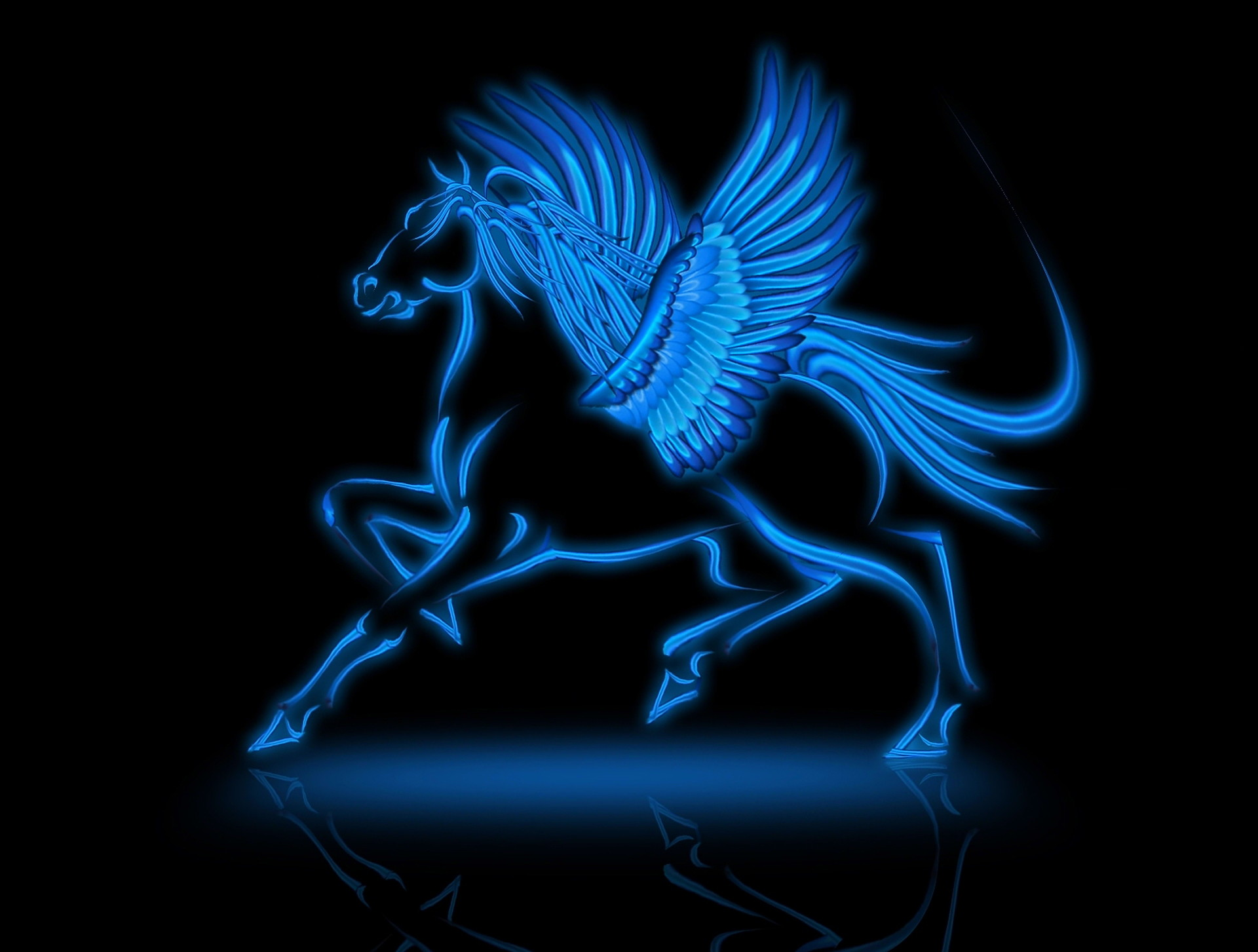 1920x1453 ... Horse Animated; Black Fire Wallpapers Group 80; Pegasus  Wallpaper Wallpapers