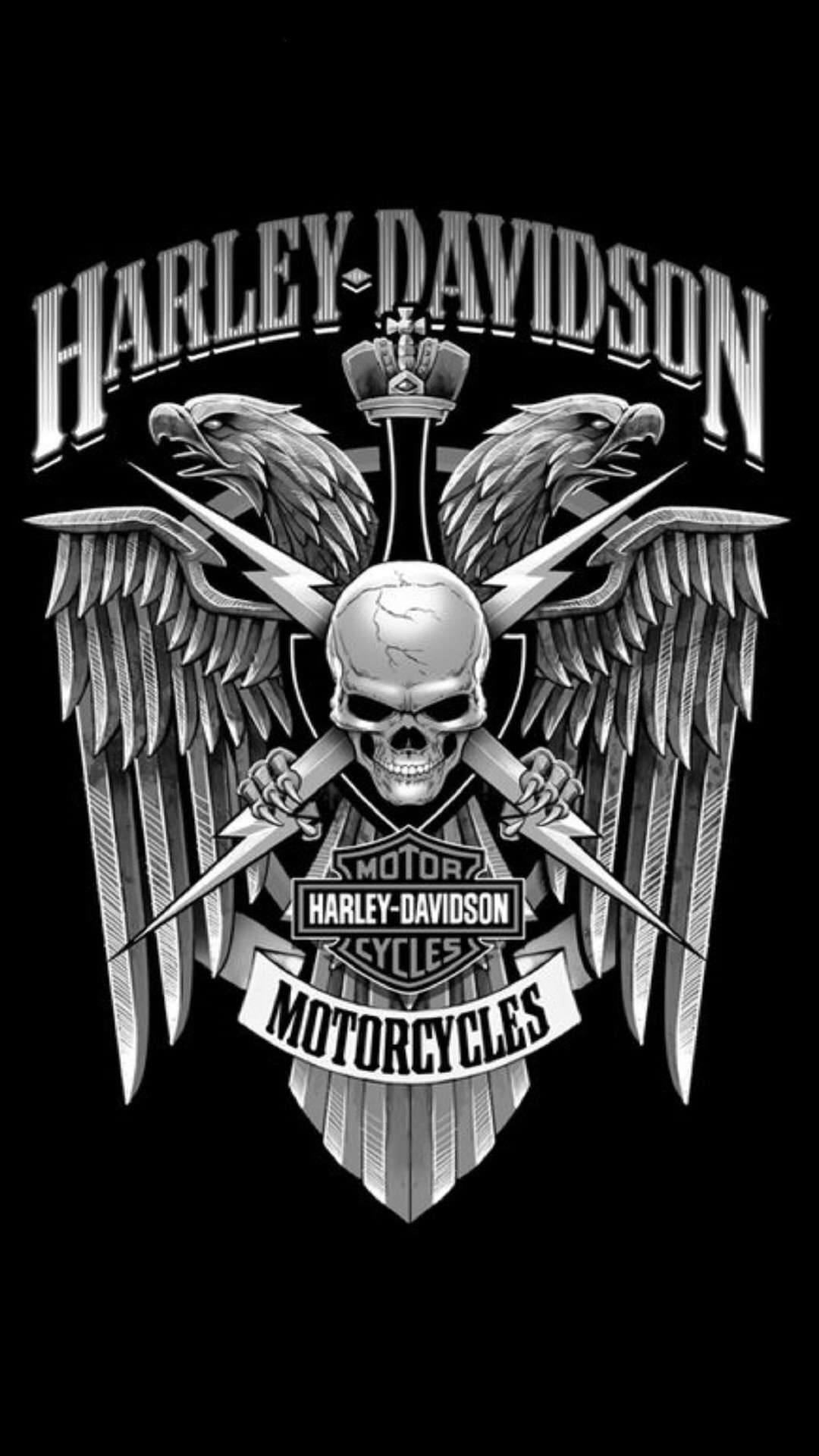 harley davidson logo wallpapers gallery wallpaper and