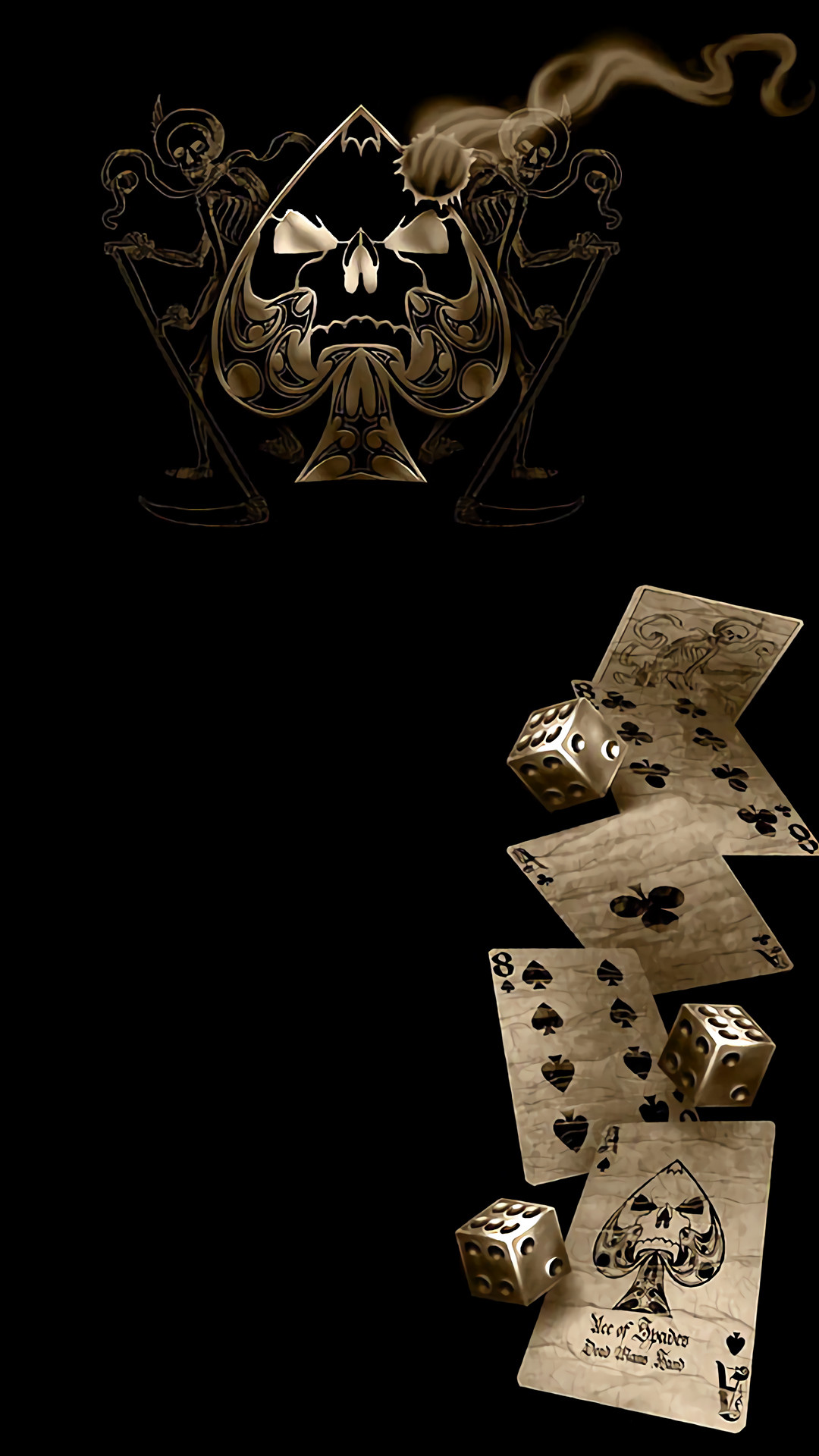 Ace Of Pentacles Images On Pinterest: Ace Of Spades Wallpapers (64+ Images