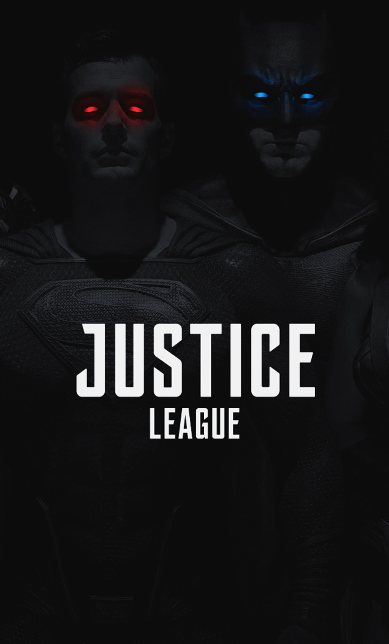 1280x2120 Justice League 2017 Monochrome Colored Eyes (iPhone 6+)