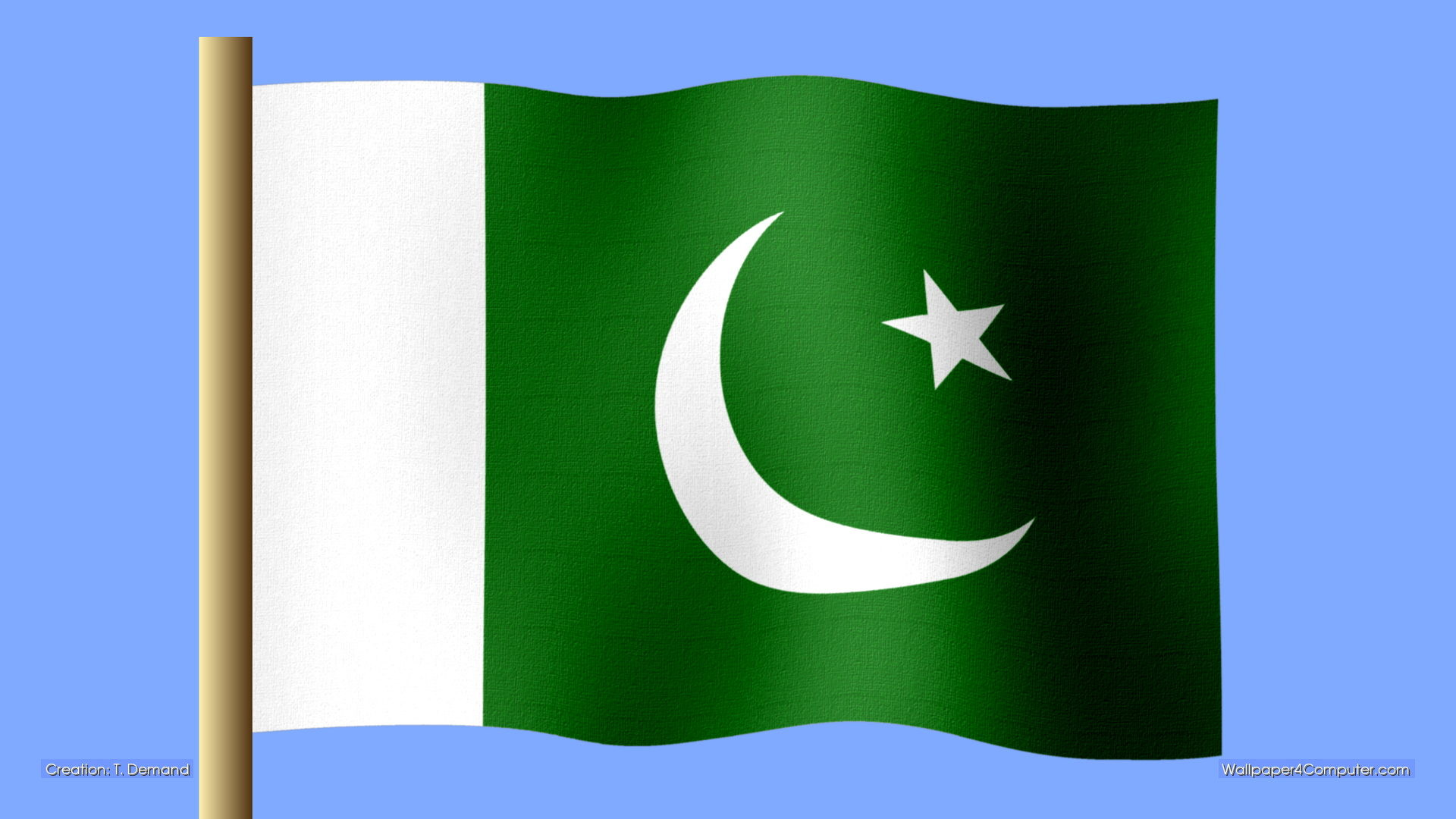 1920x1080 Pakistani Flags In Beautiful Design Pakistani Flags New Pictures