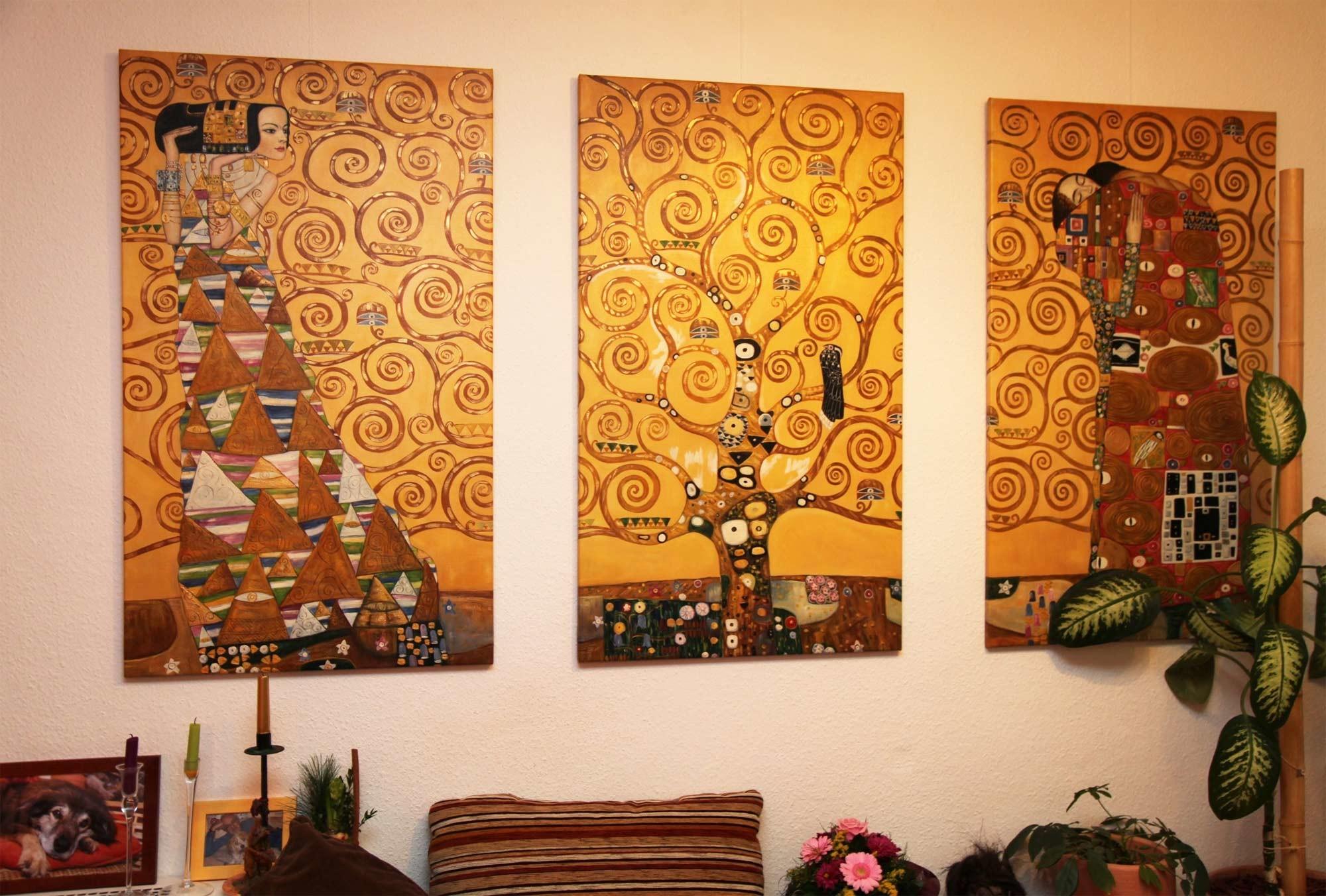 gustav klimt wallpaper 54 images. Black Bedroom Furniture Sets. Home Design Ideas