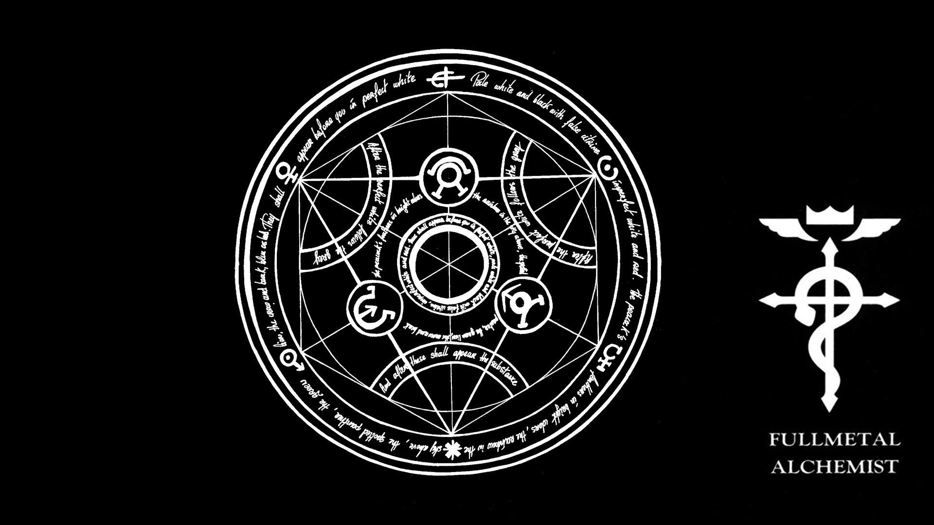 1920x1080 Wallpapers For Fullmetal Alchemist Wallpaper Logo