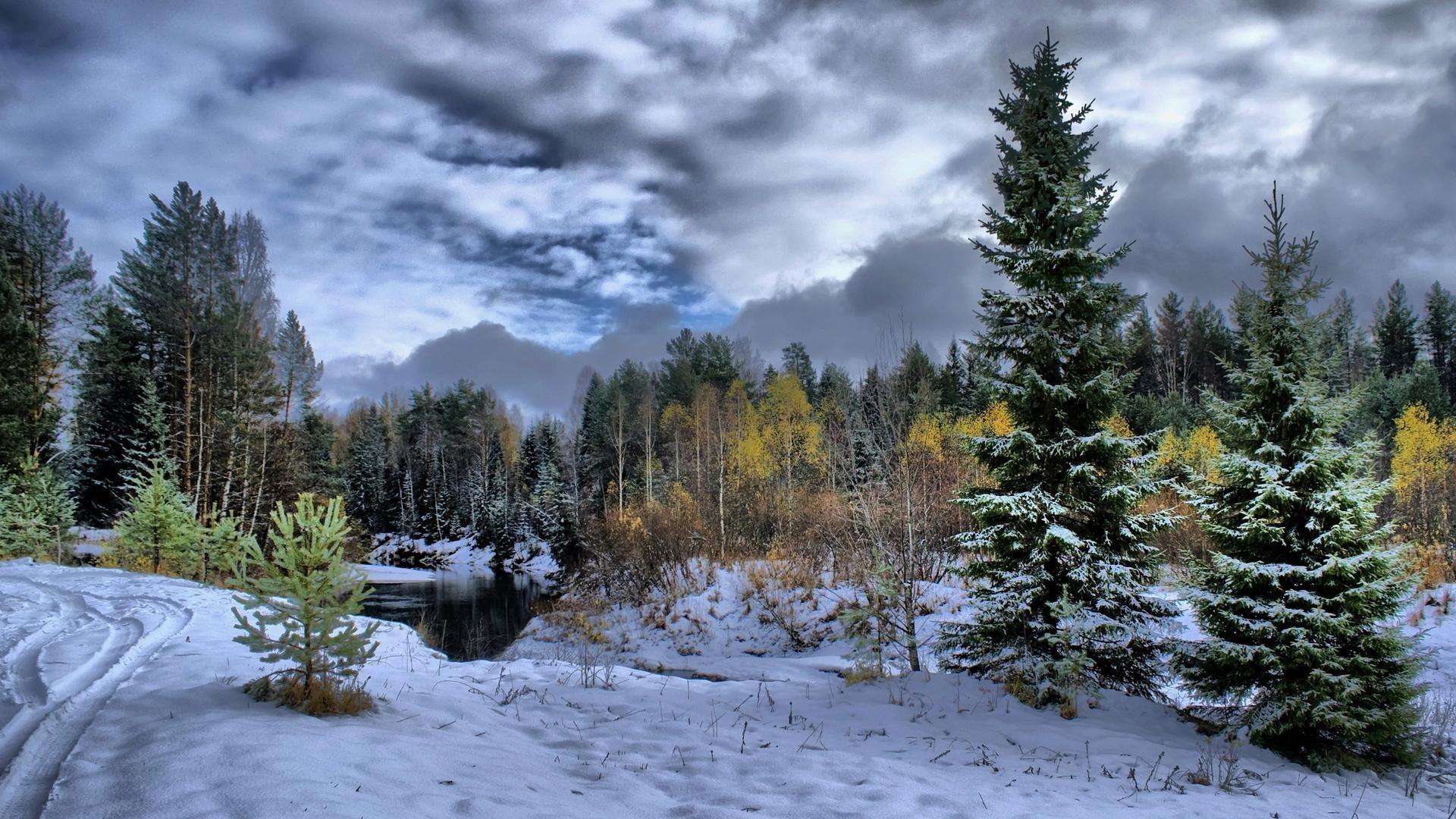 Wallpaper Winter Scenes (58+ images)