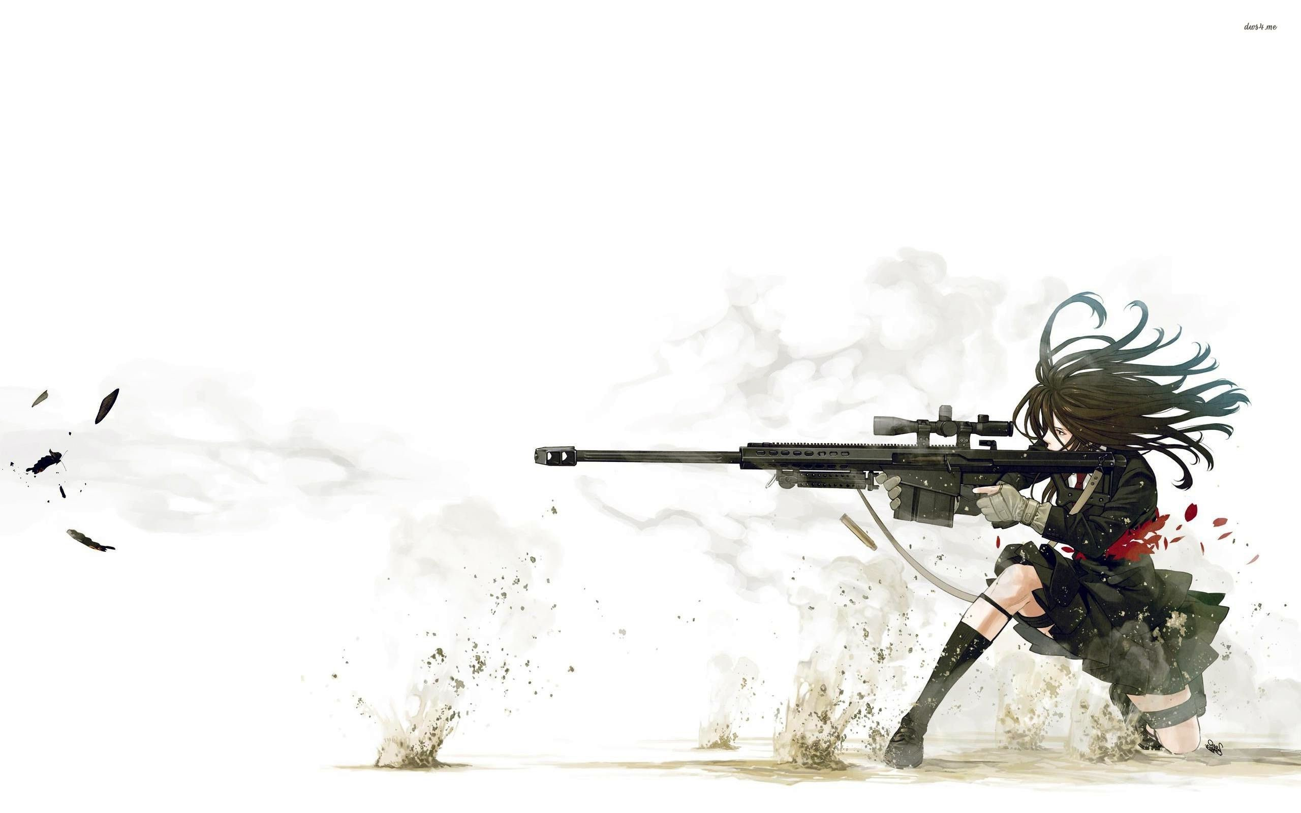 2560x1600 Anime Sniper Wallpaper 3