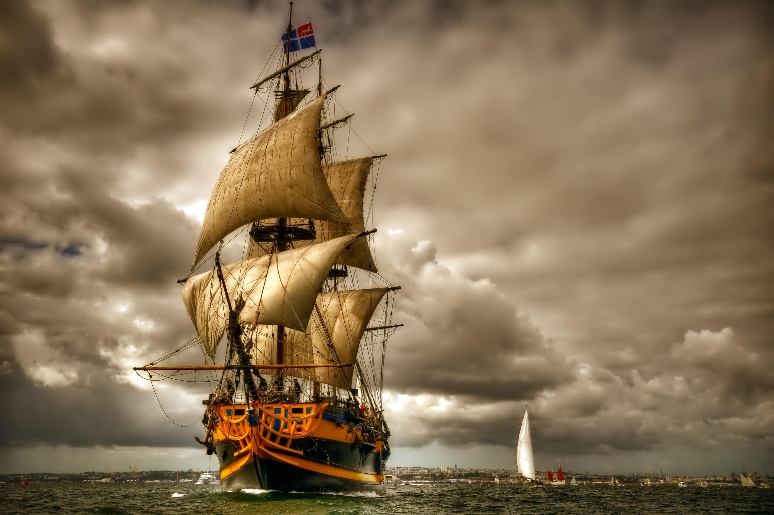Fantasy Ship 1080p Wallpaper