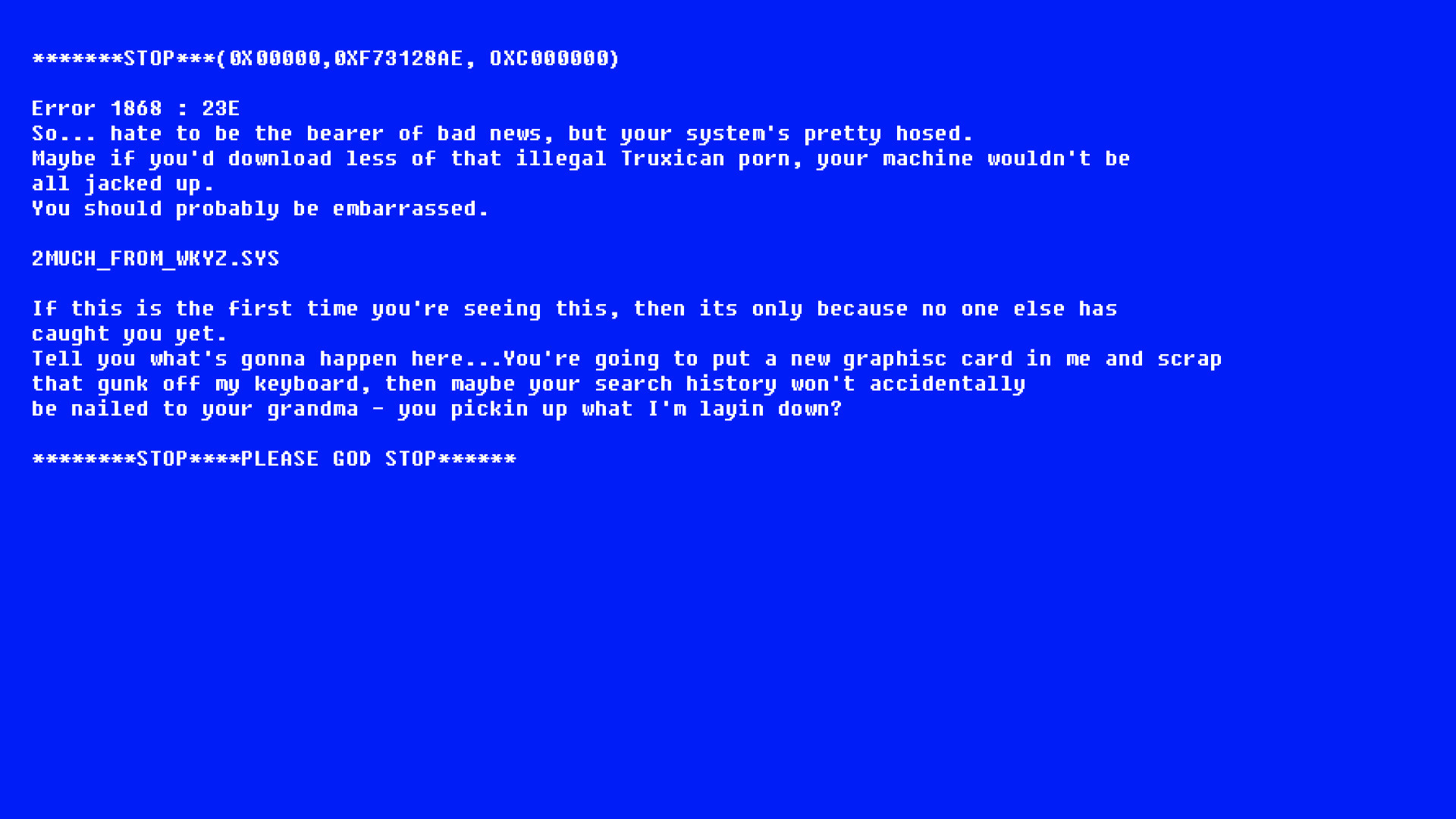 Blue Screen Error Wallpaper 72 Images