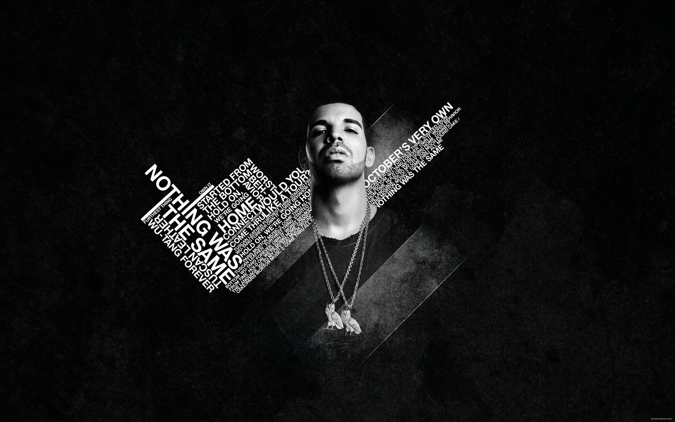 2560x1600 Drake Nothing Was the Same • Rap Wallpapers