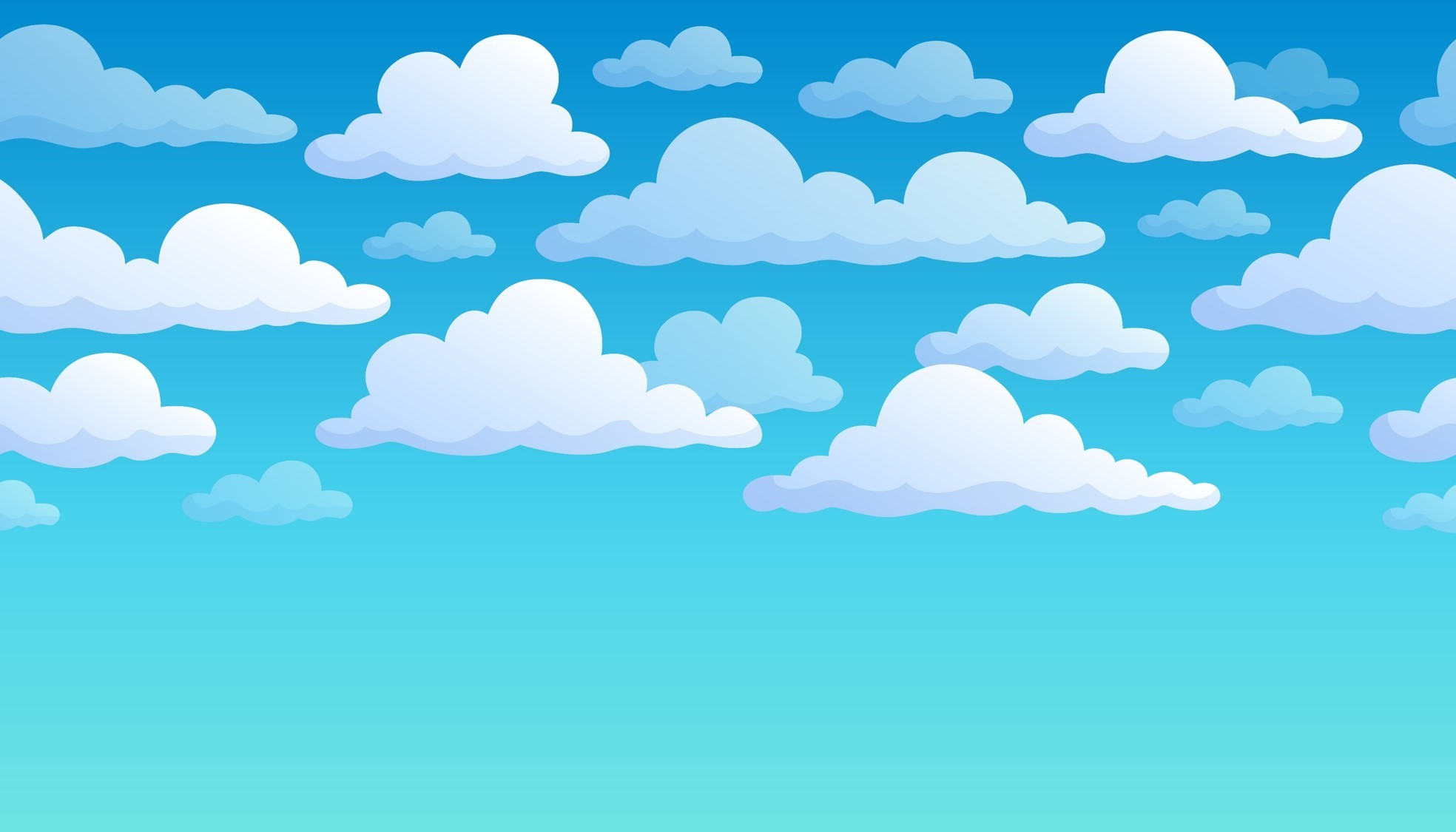 1968x1125 Cartoon Sky Background Clipart