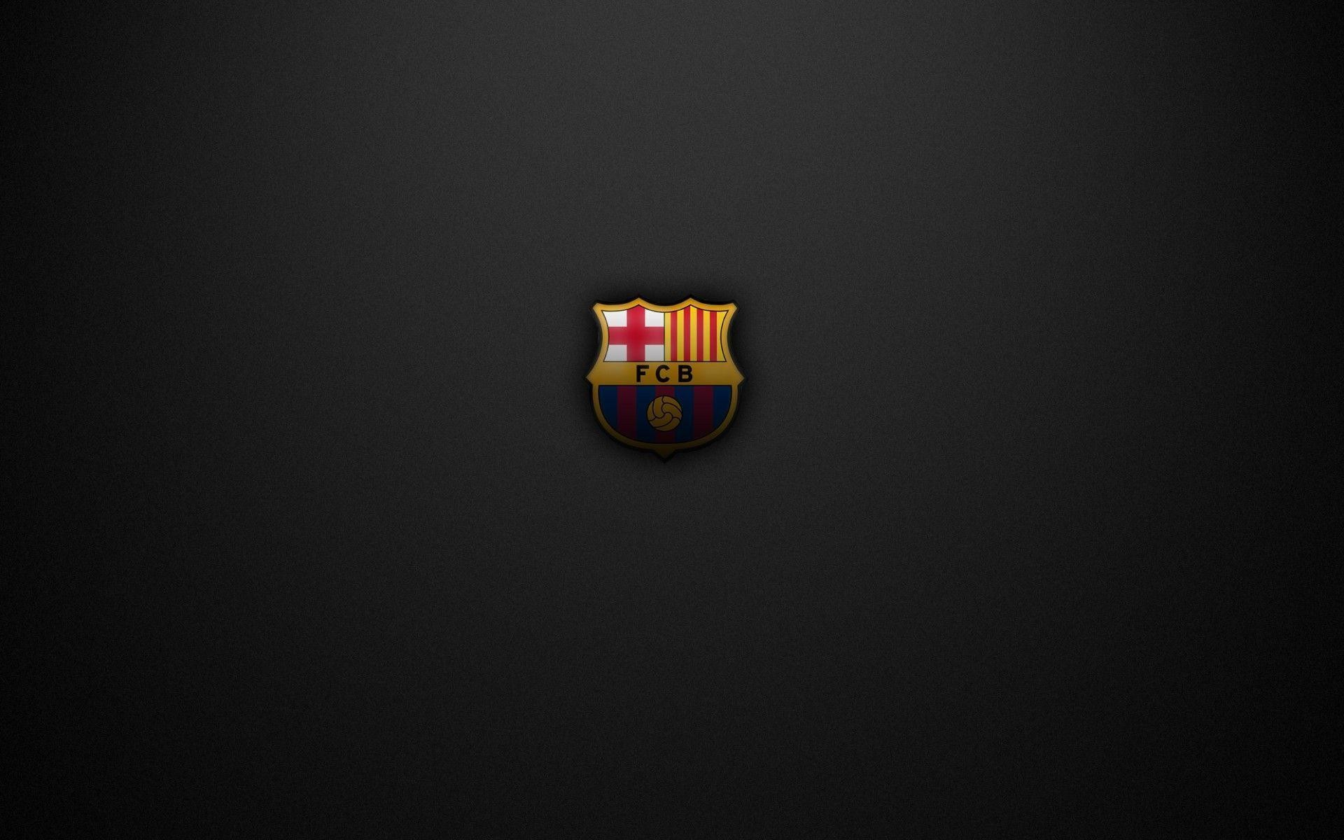 1920x1200 Download HD FC Barcelona, Crest, Soccer, Logo Wallpapers