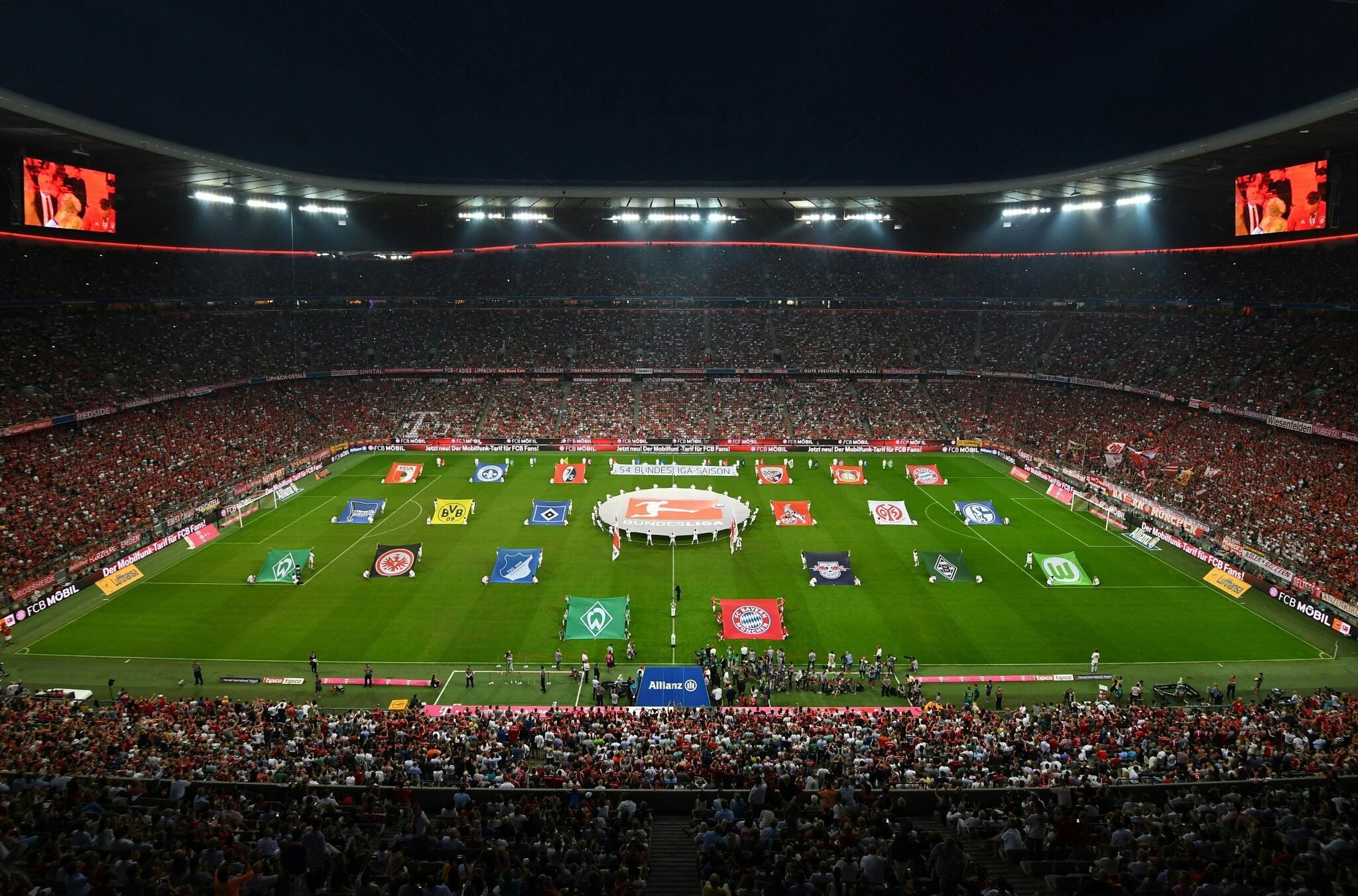 2048x1352  Allianz Arena Opening Ceremony of the Season 2016-2017