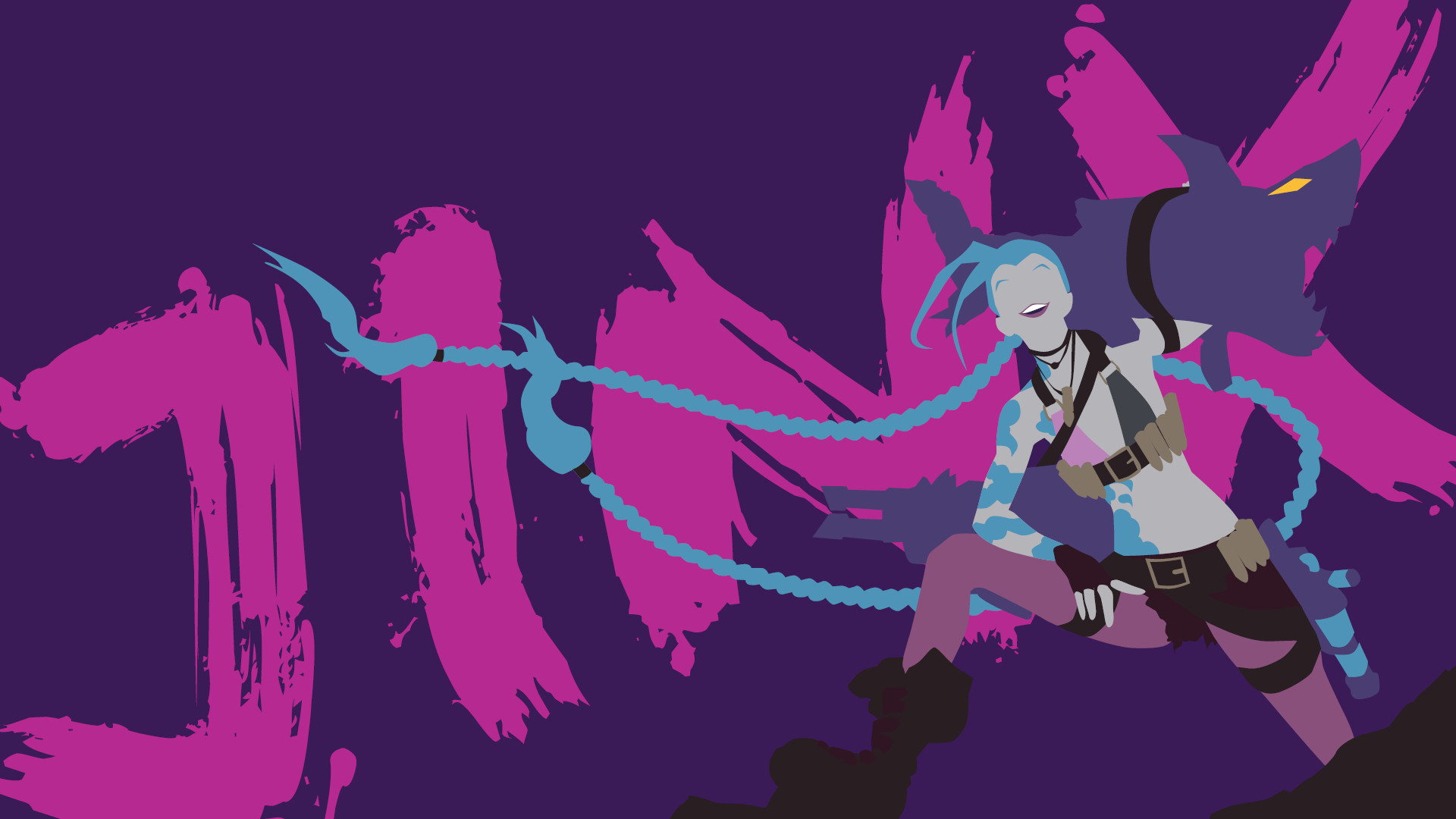 1920x1080 ... QMQM Jinx Wallpapers, LL.