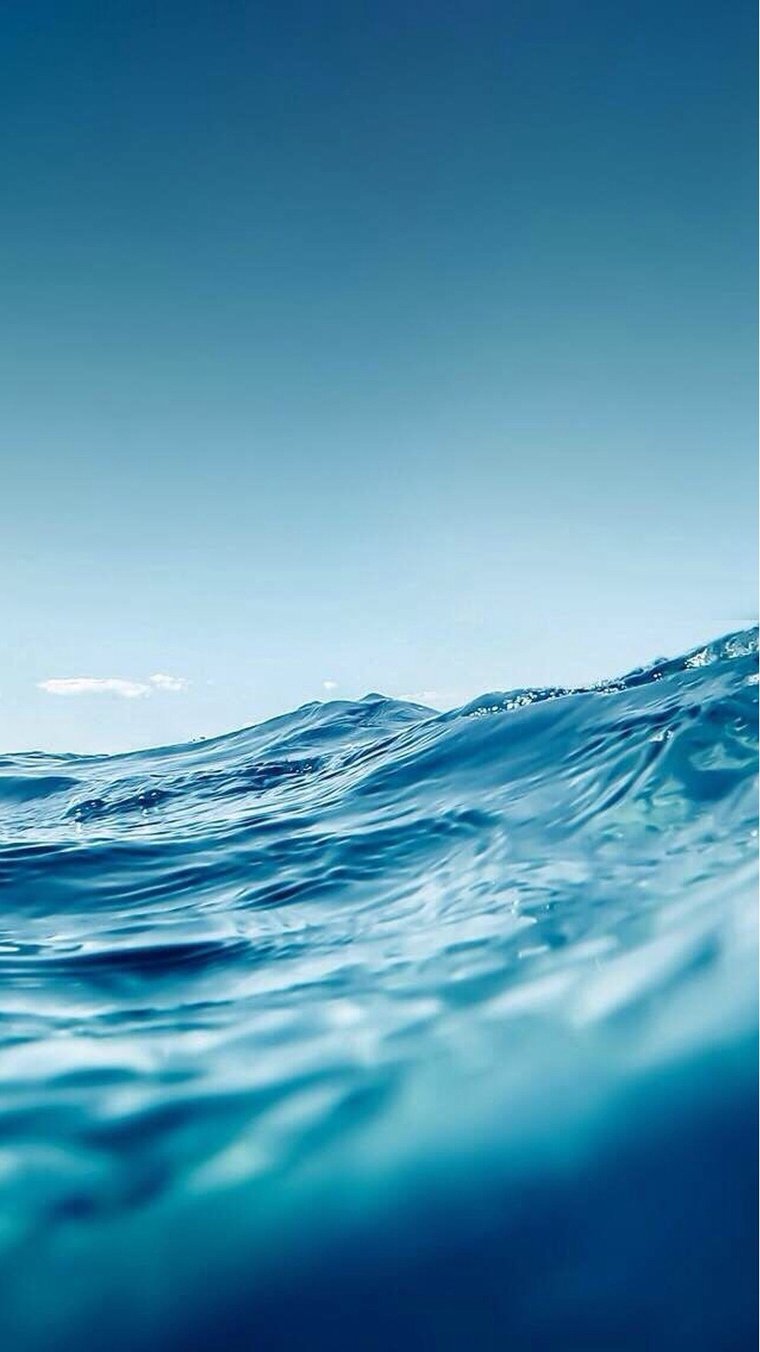 1080x1920 Ocean Wave Close Up #iPhone #6 #plus #wallpaper