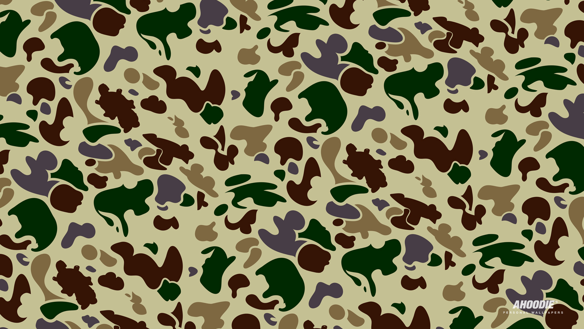 1920x1080 bape camo wallpaper