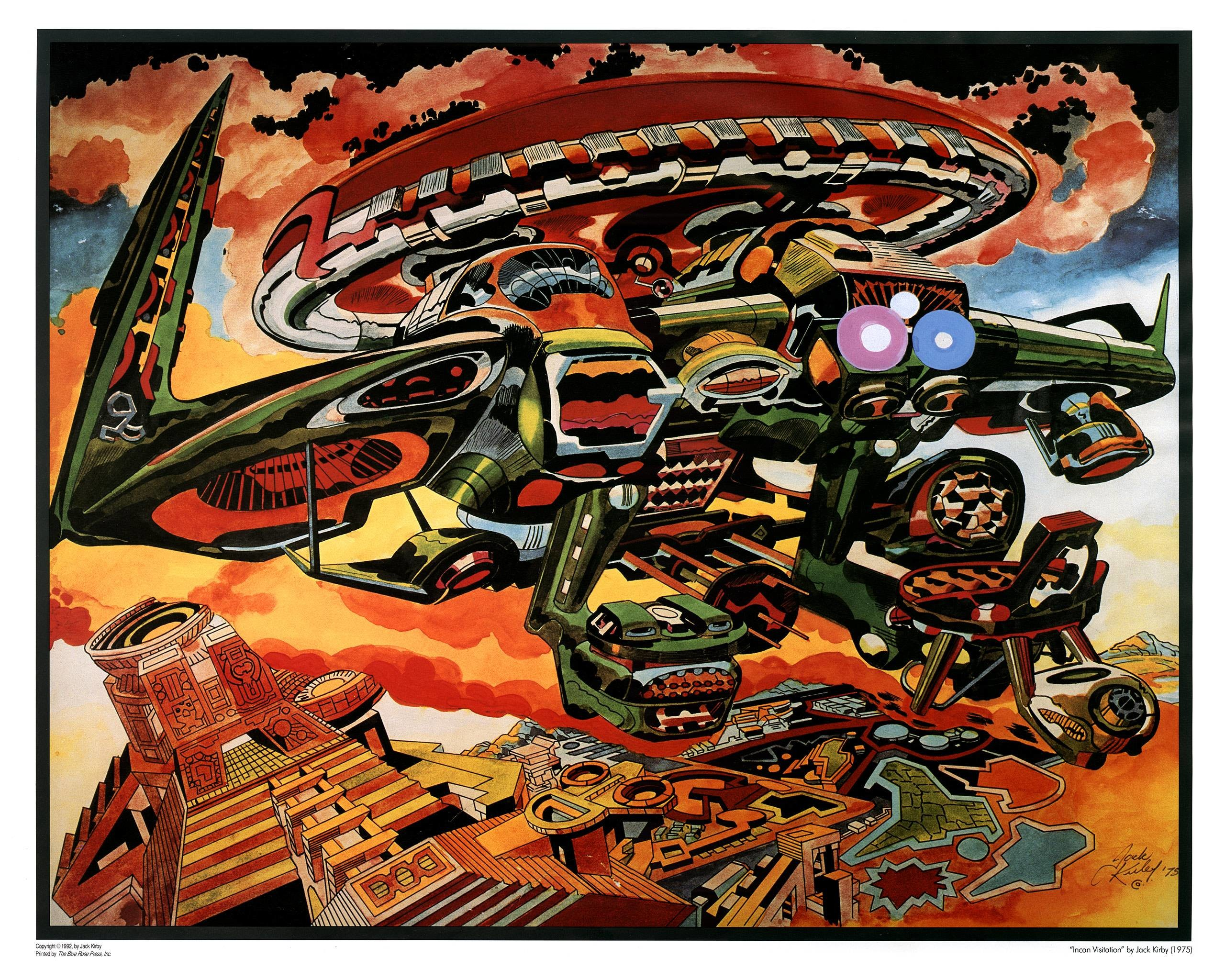 2560x2048 Membership In The Jack Kirby Museum Research Center