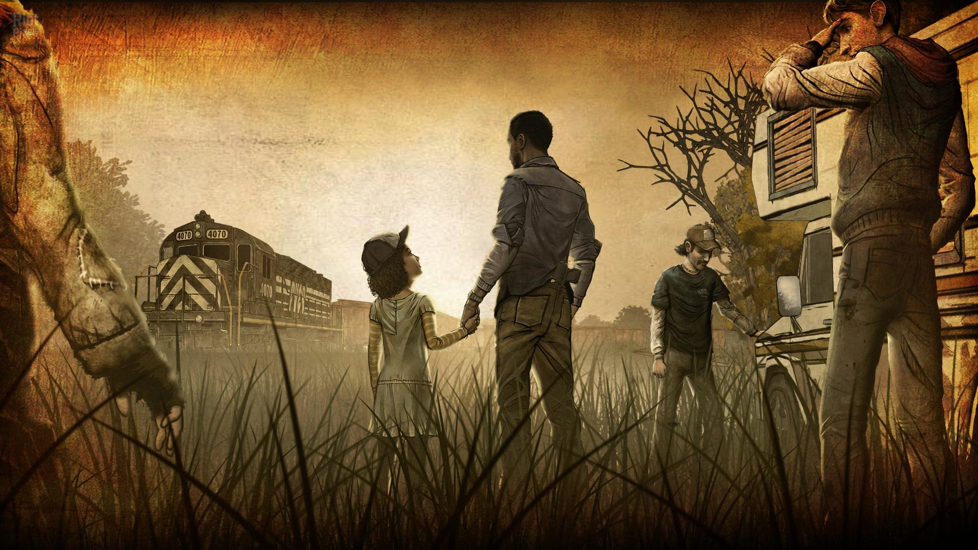 The Walking Dead: A New Frontier Full HD Wallpaper and Background .