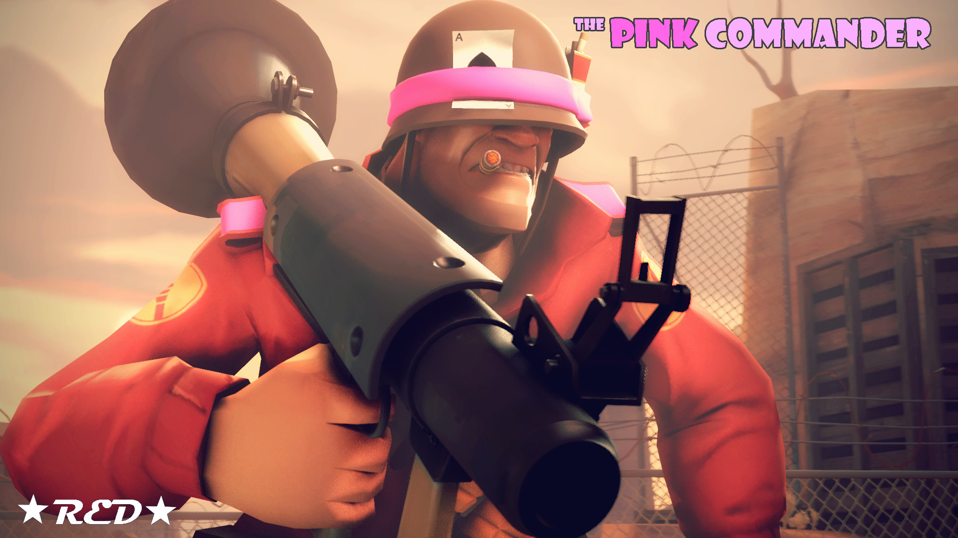 1920x1080 ... TF2 Loadout - Soldier (The Pink Comander) by nrgtfc