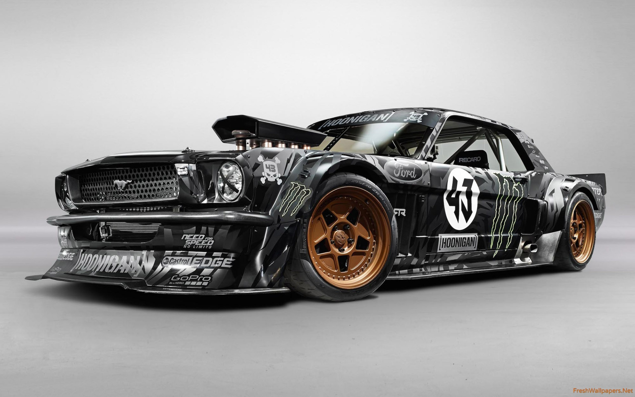2560x1600 1965-ken-block-ford-mustang-hoonicorn-rtr Wallpaper: