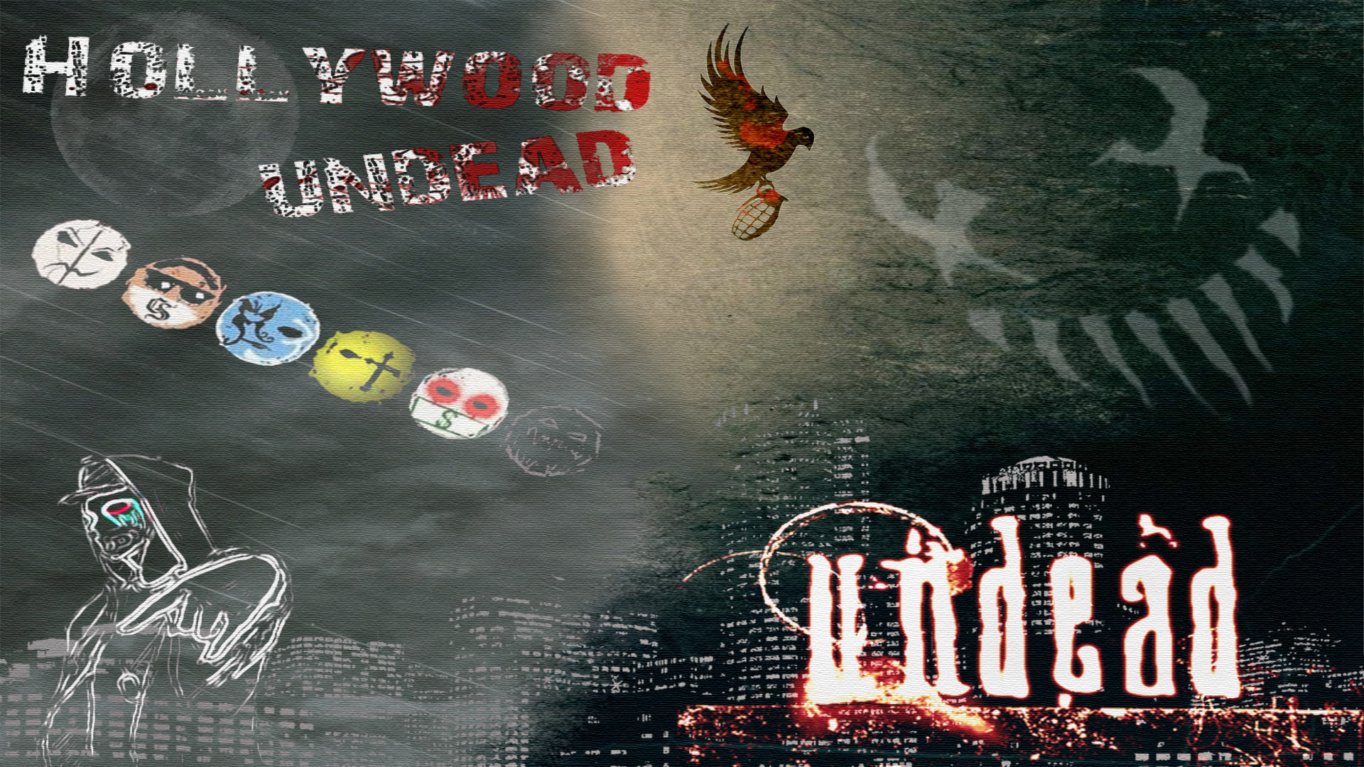 1920x1080 Hollywood Undead Picture HD.