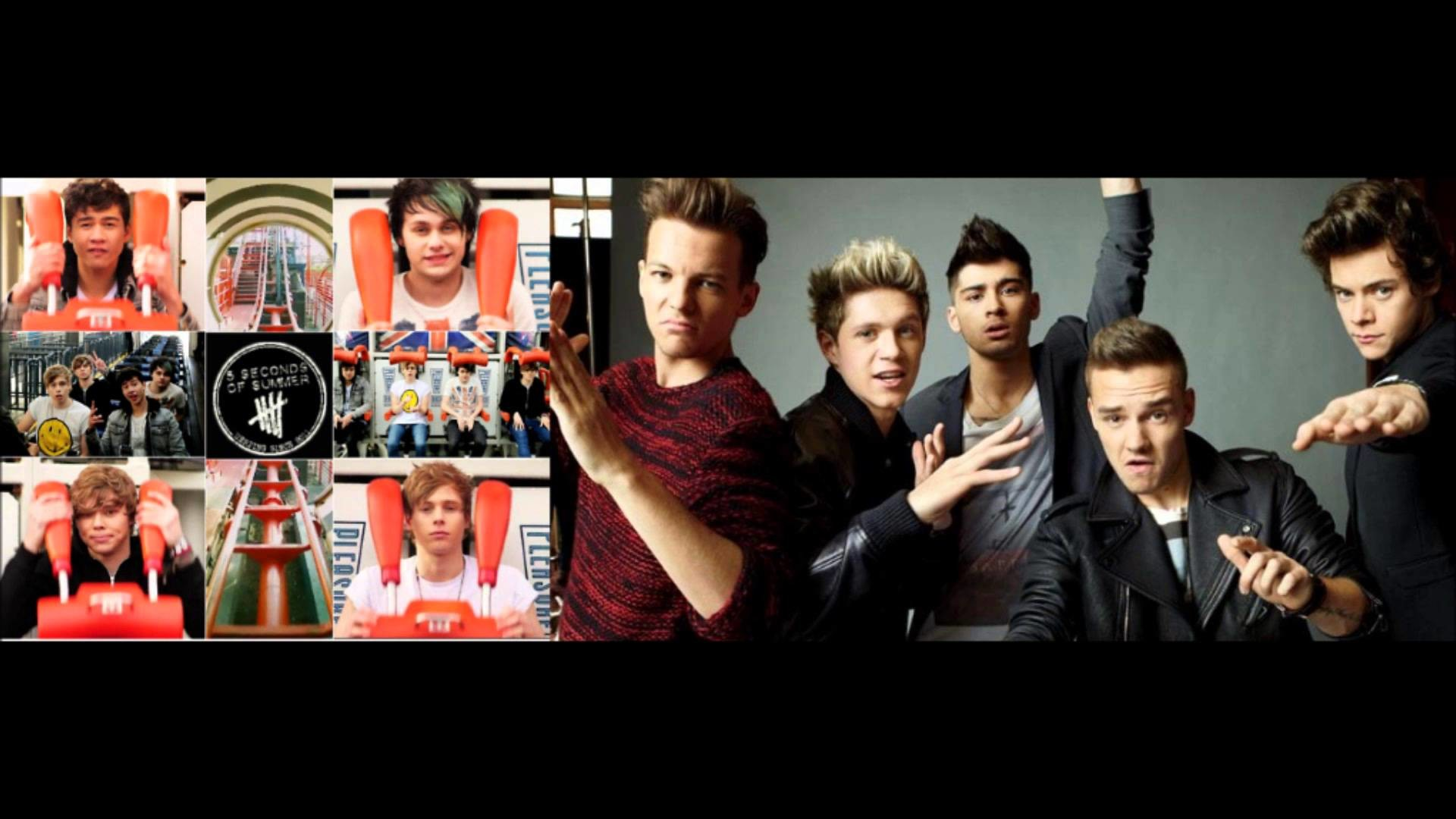 5 Sos Wallpapers (68+ images) 5sos And One Direction Wallpaper