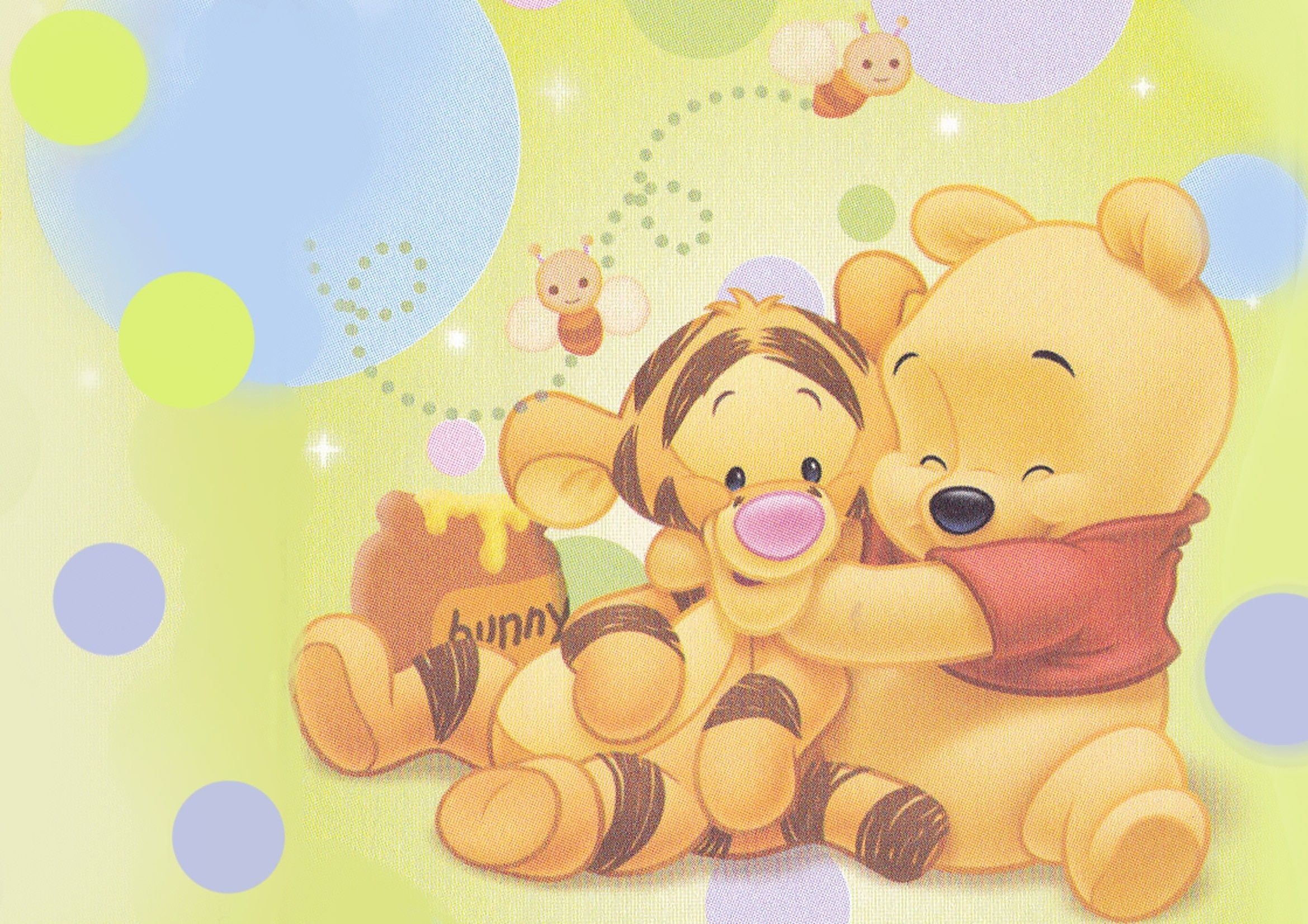 2339x1653 Baby Winnie The Pooh Characters | Free coloring pages