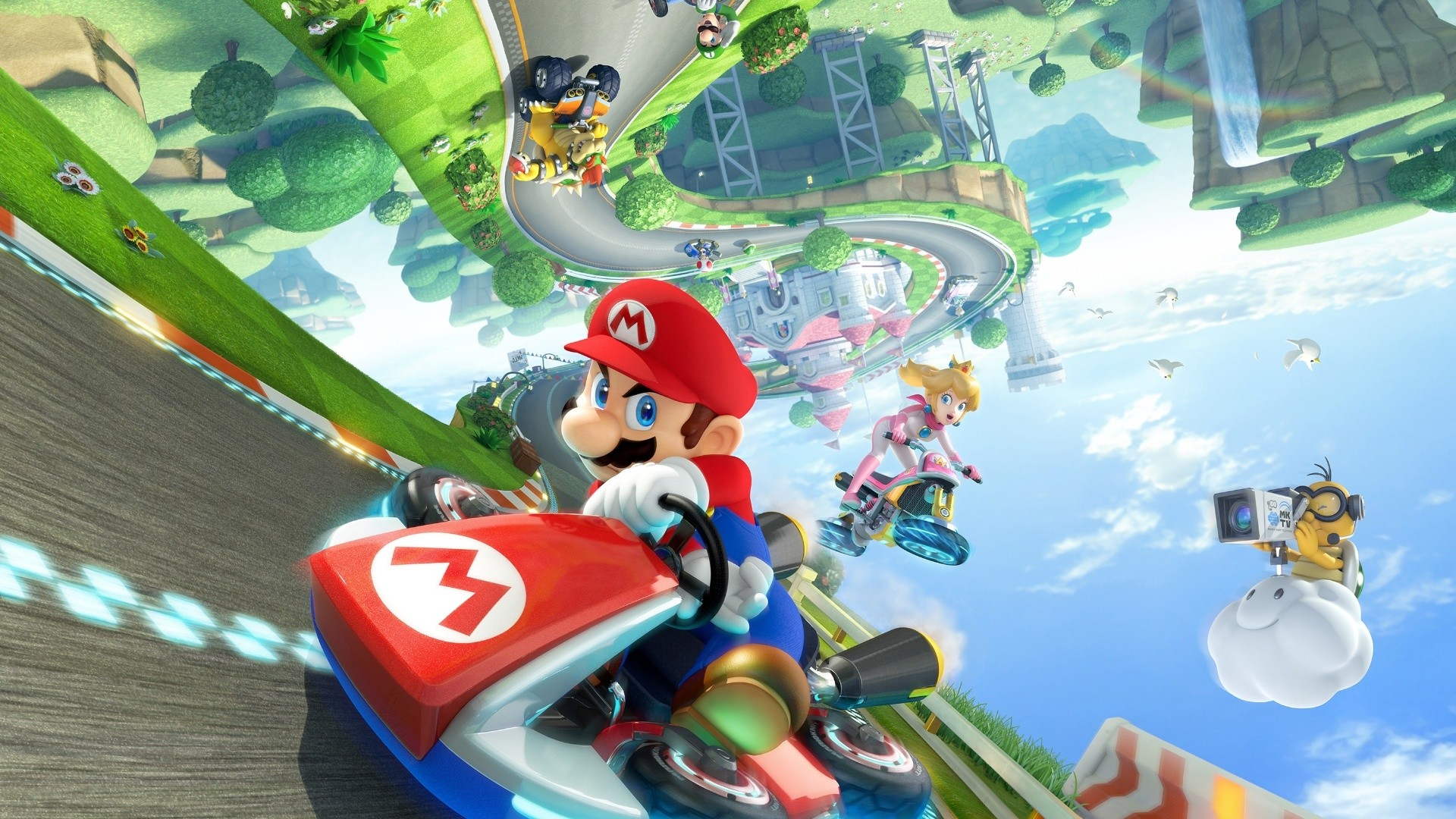 1920x1080 Mario Kart 8 Computer Wallpapers, Desktop Backgrounds .